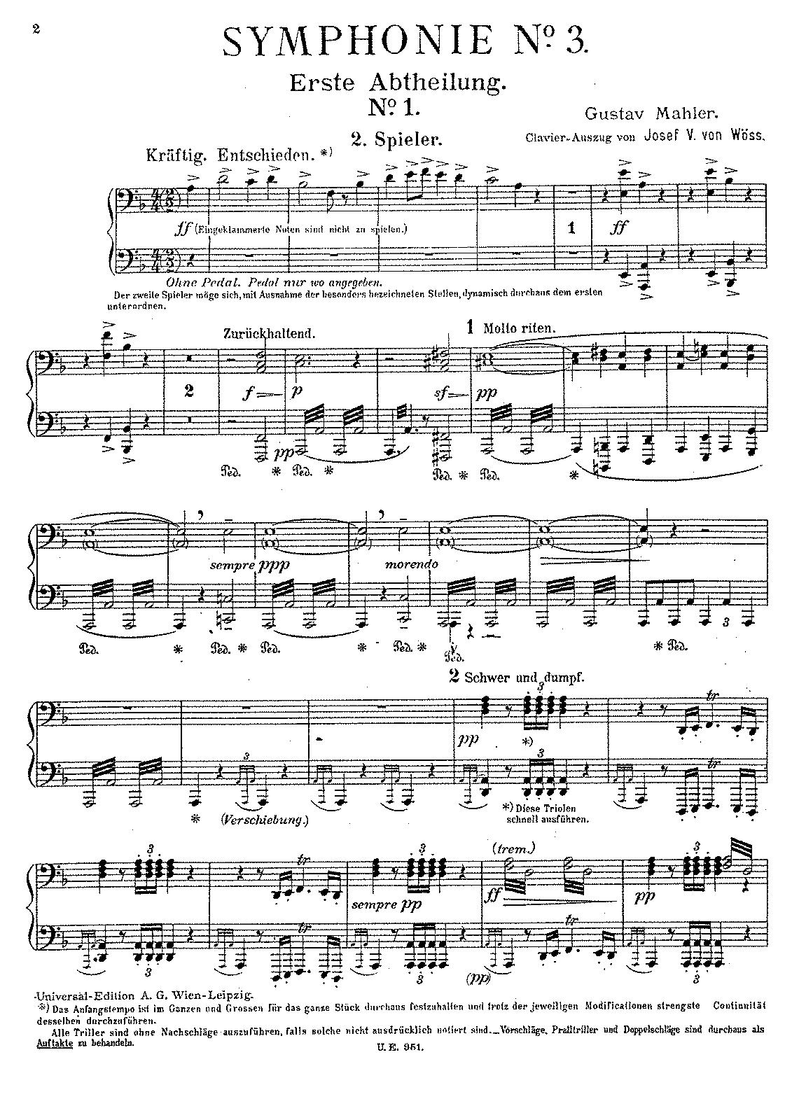 mahler universal edition viii symphonien pdf