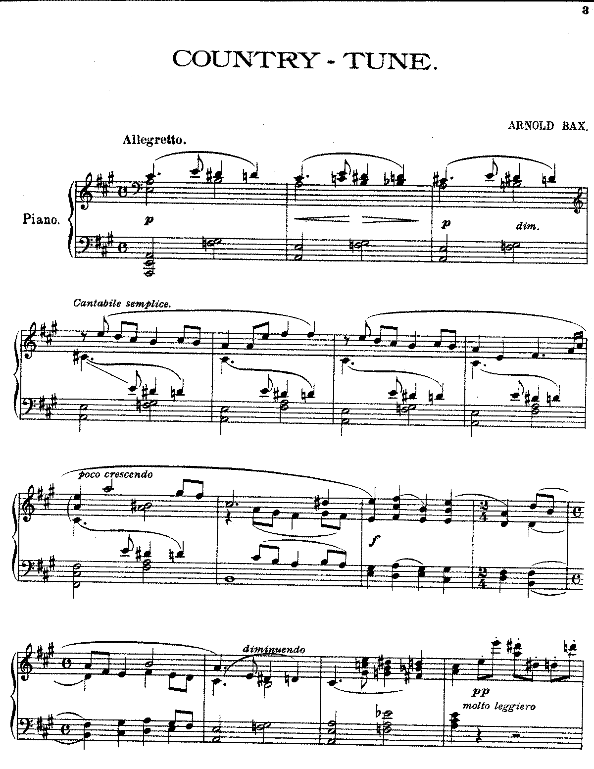 Bax (1920) Country Tune.pdf