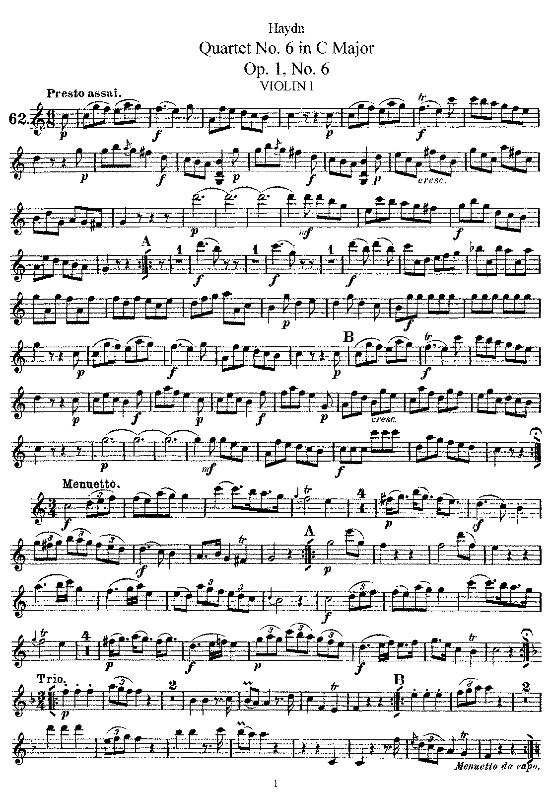 PMLP143602-Haydn - String Quartet No6 in CM Op1 No6 Violin1.pdf