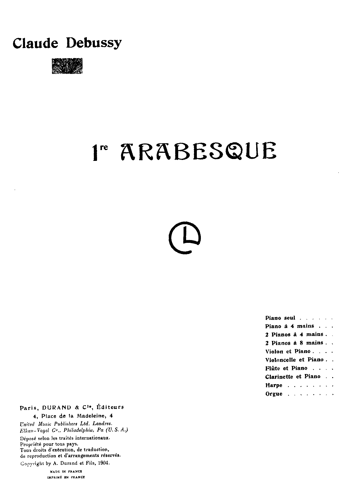 PMLP02383-Debussy arabesque 1 piano 4 hands.pdf