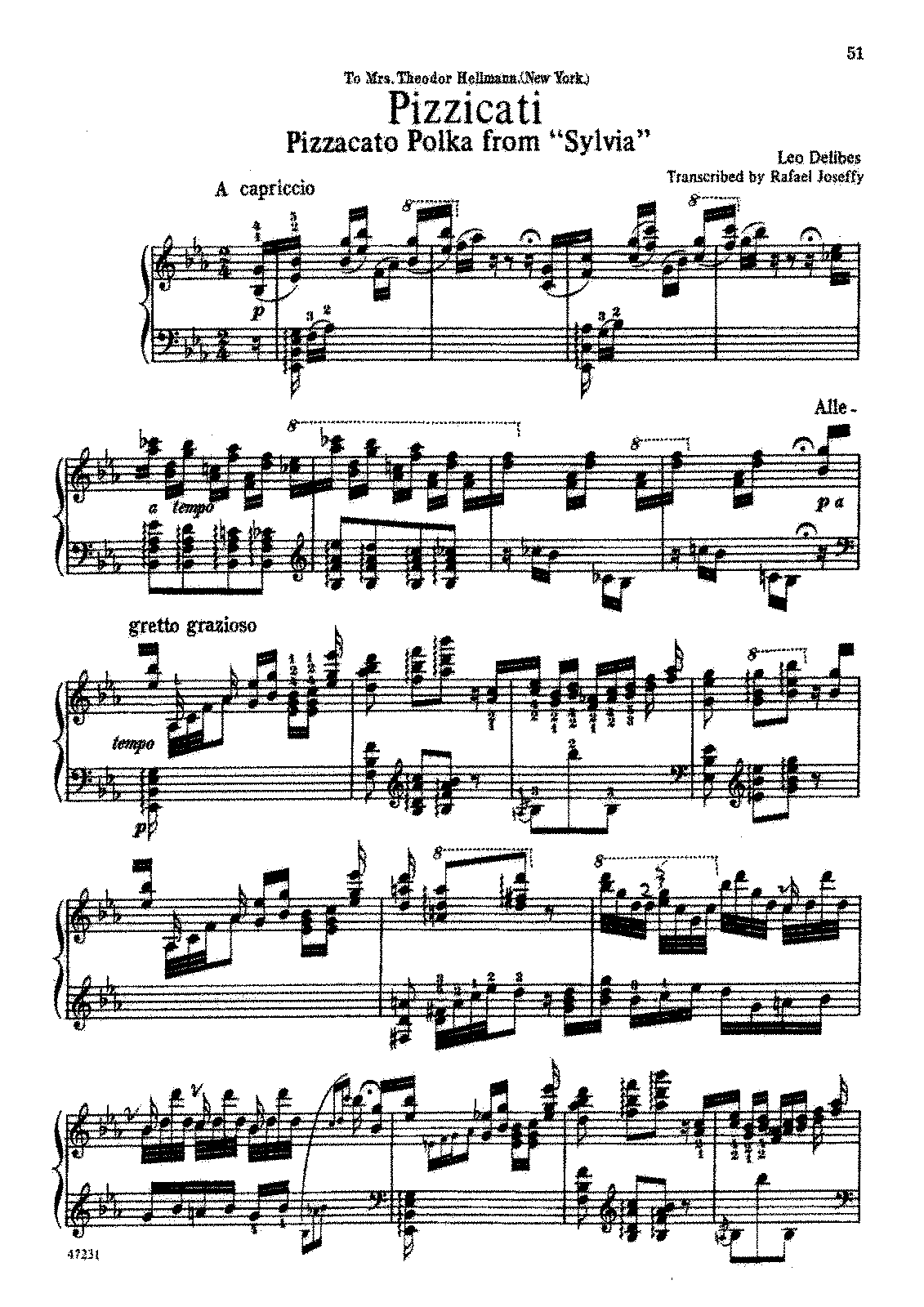 PMLP24160-Joseffy - Transcription - Delibes - Pizzicato Polka from Sylvia.pdf