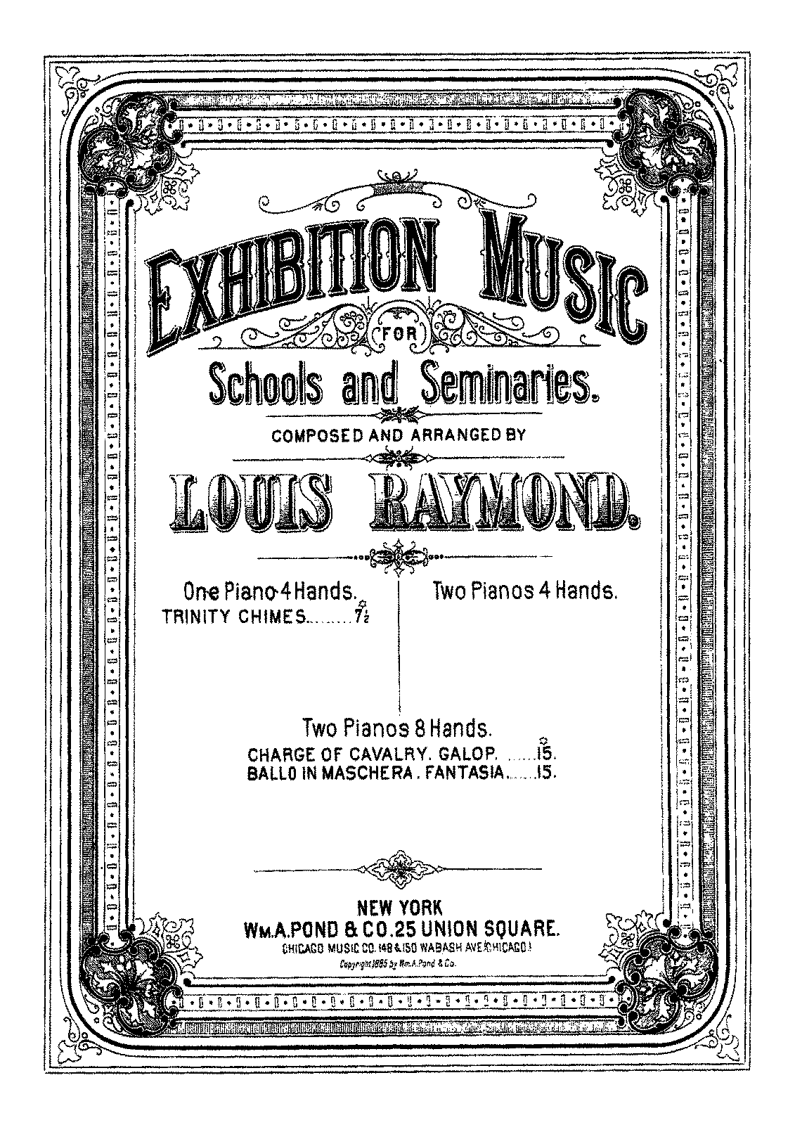 PMLP344913-Leybach - 56 Fantaisie Brillante op 56 sur Un ballo in Maschera de Verdi - Transcription by Louis Raymond - 2P8H.pdf