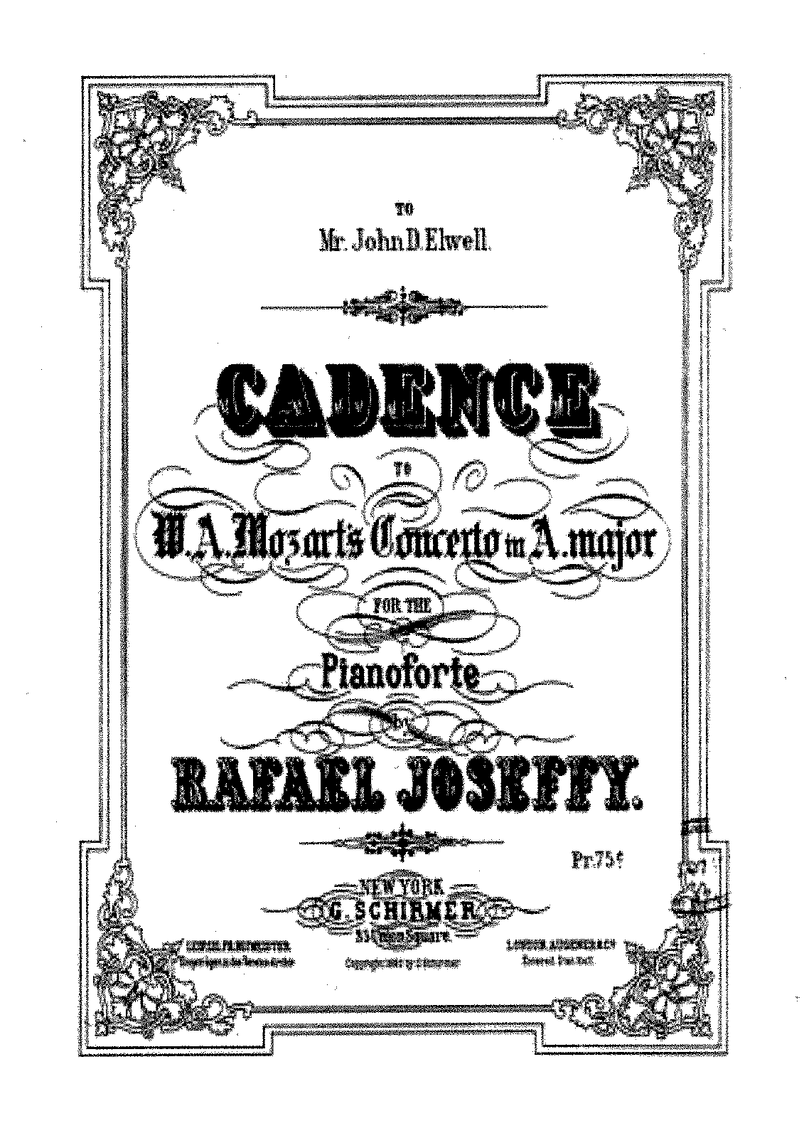 PMLP331210-Joseffy - Cadenza - Mozart - Piano Concerto A major (8p).pdf
