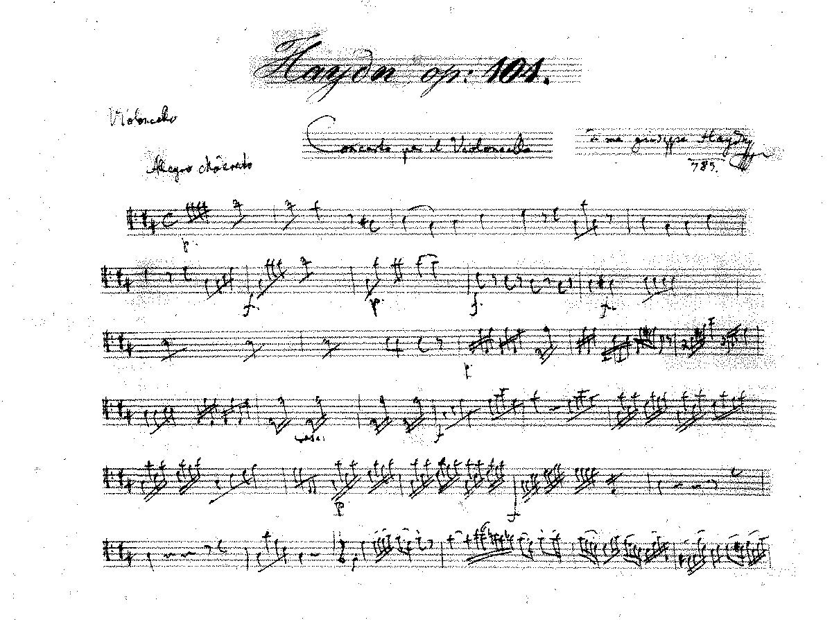 PMLP18850-Haydn - Cello Concerto in D Major Op101 manuscript cutout cello solo.pdf