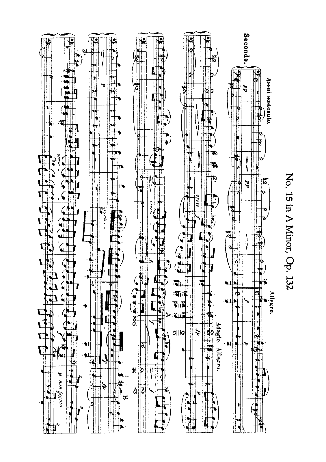Beethoven - String Quartet No. 15 (Arr. for Piano 4 h.).pdf