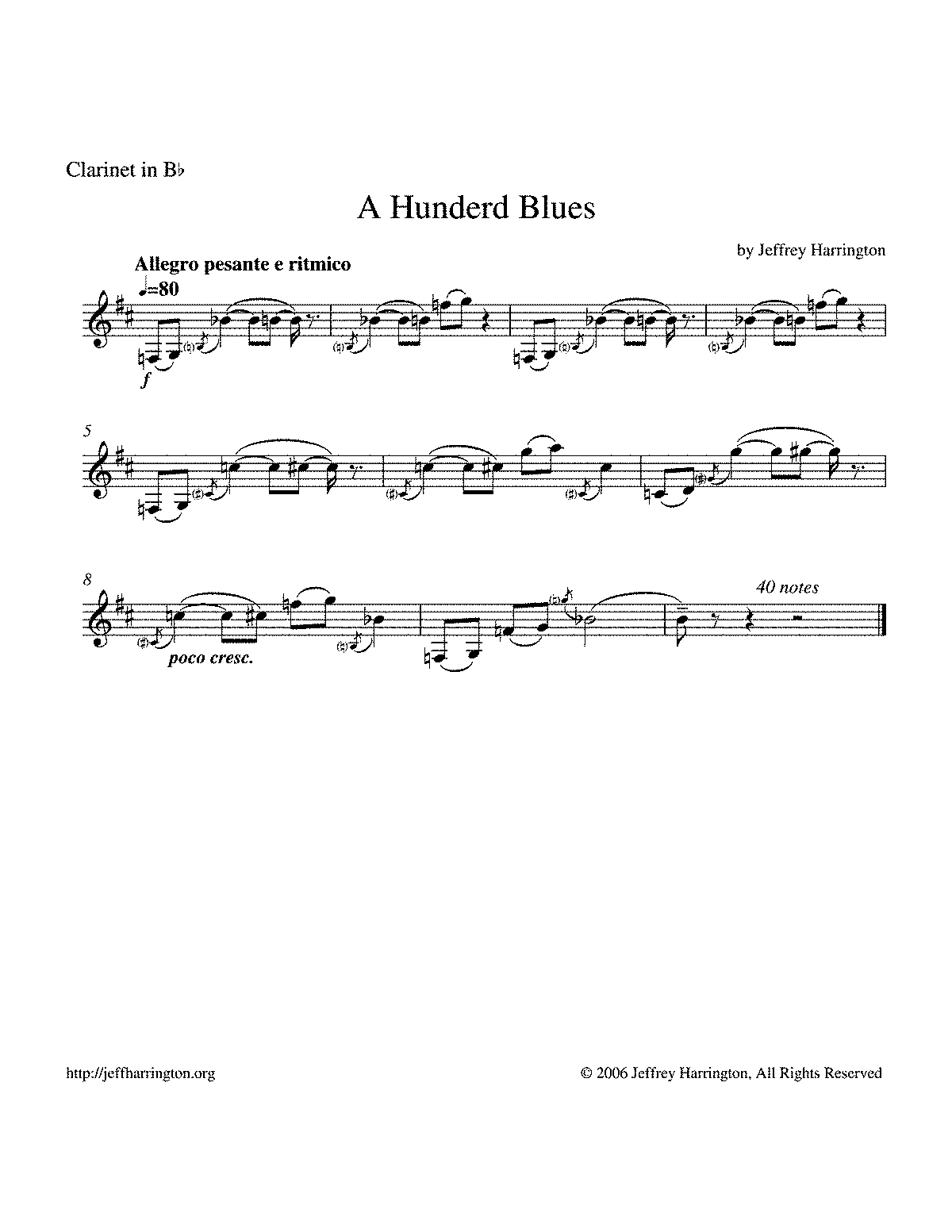 PMLP194609-hunderd blues clarinet part.pdf