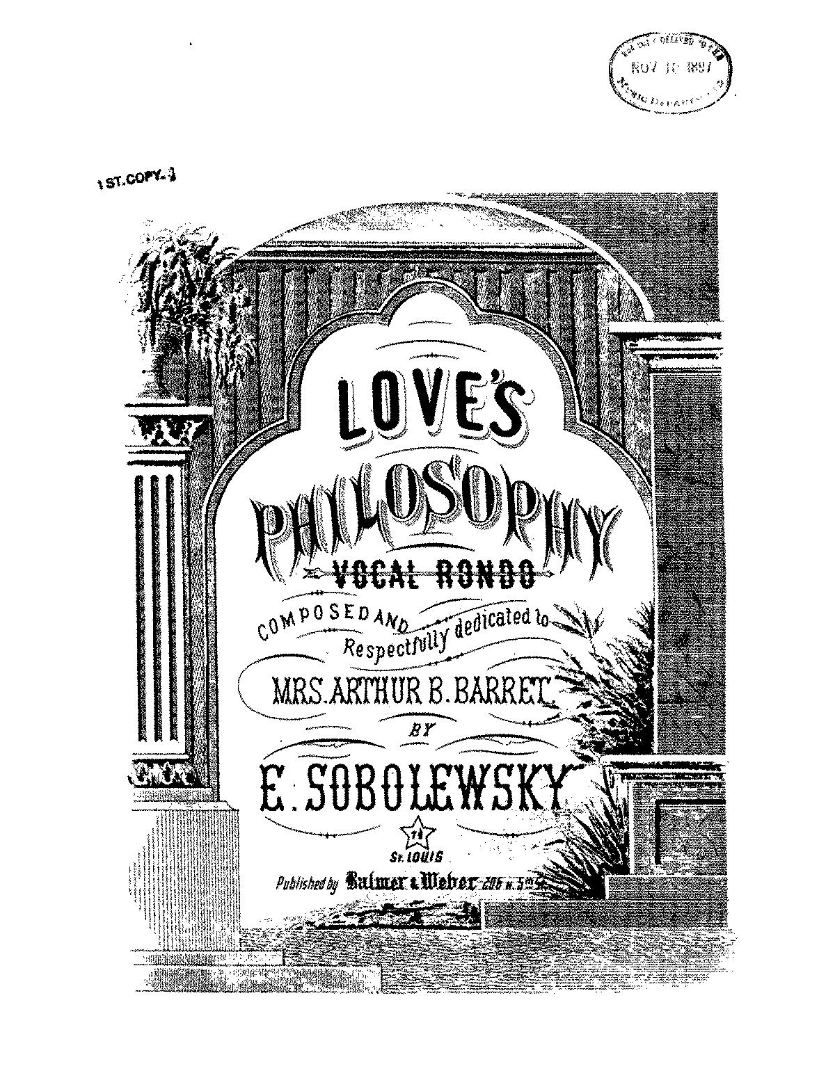 love s philosophy