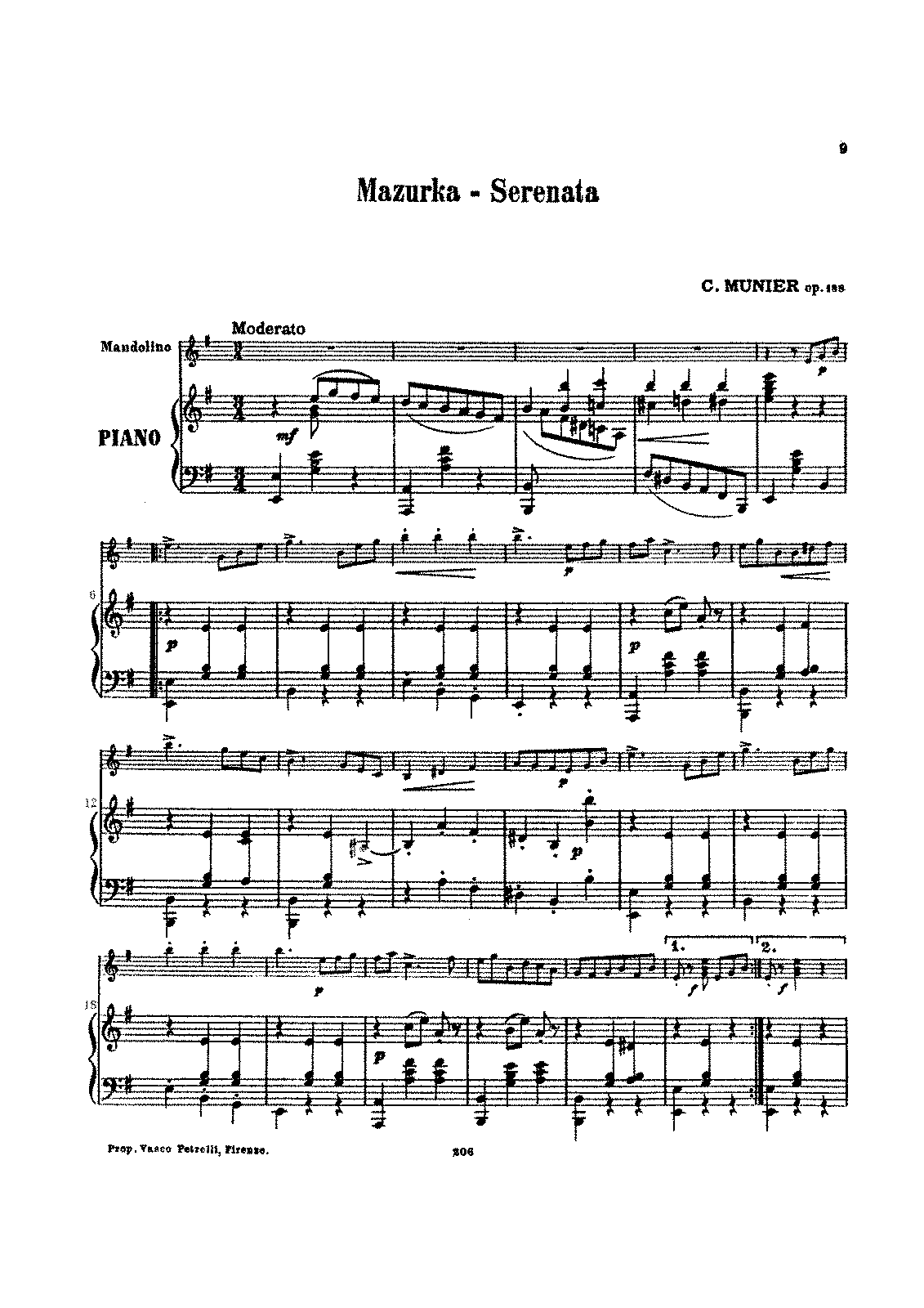 PMLP658907-Mazurka, Nelly Album Ⅲ.Serenata Op.188 C.Munier Pianoforte part.pdf