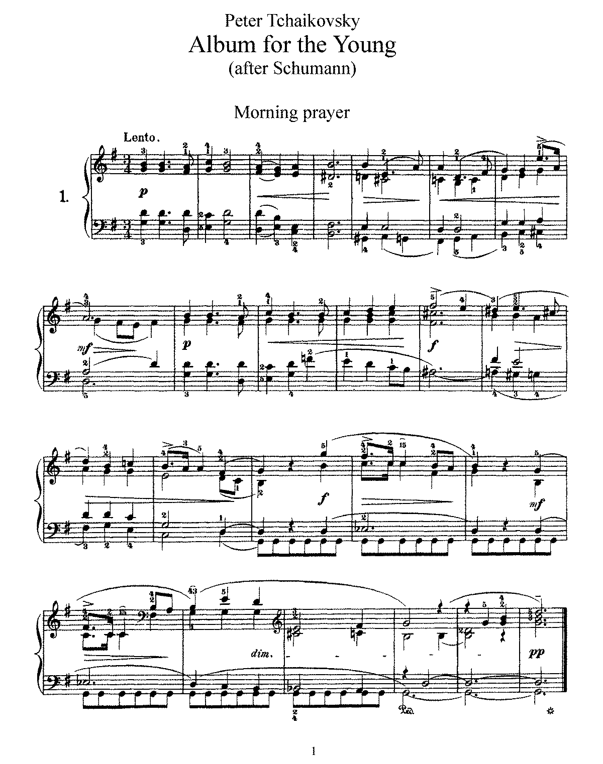 Tchaikovsky - Op.39 - Album for the Young.pdf