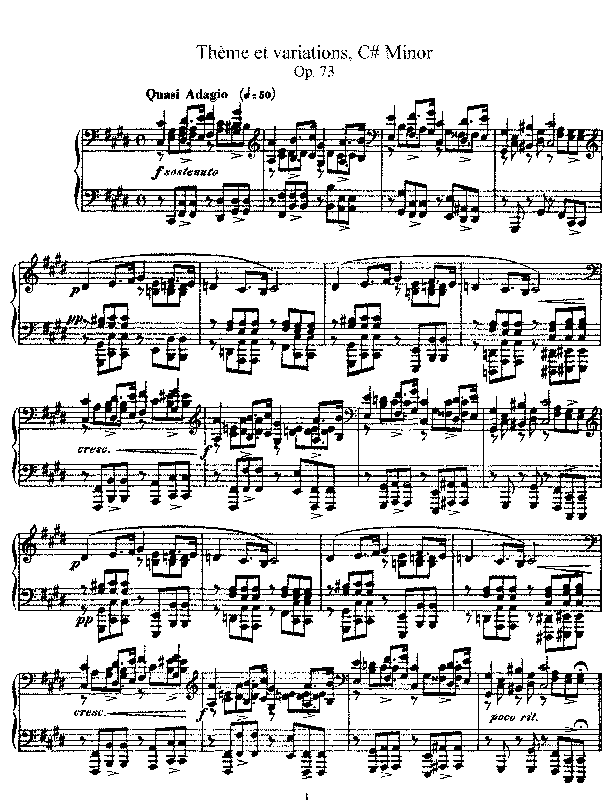 Faure - Theme and Variations (piano).pdf