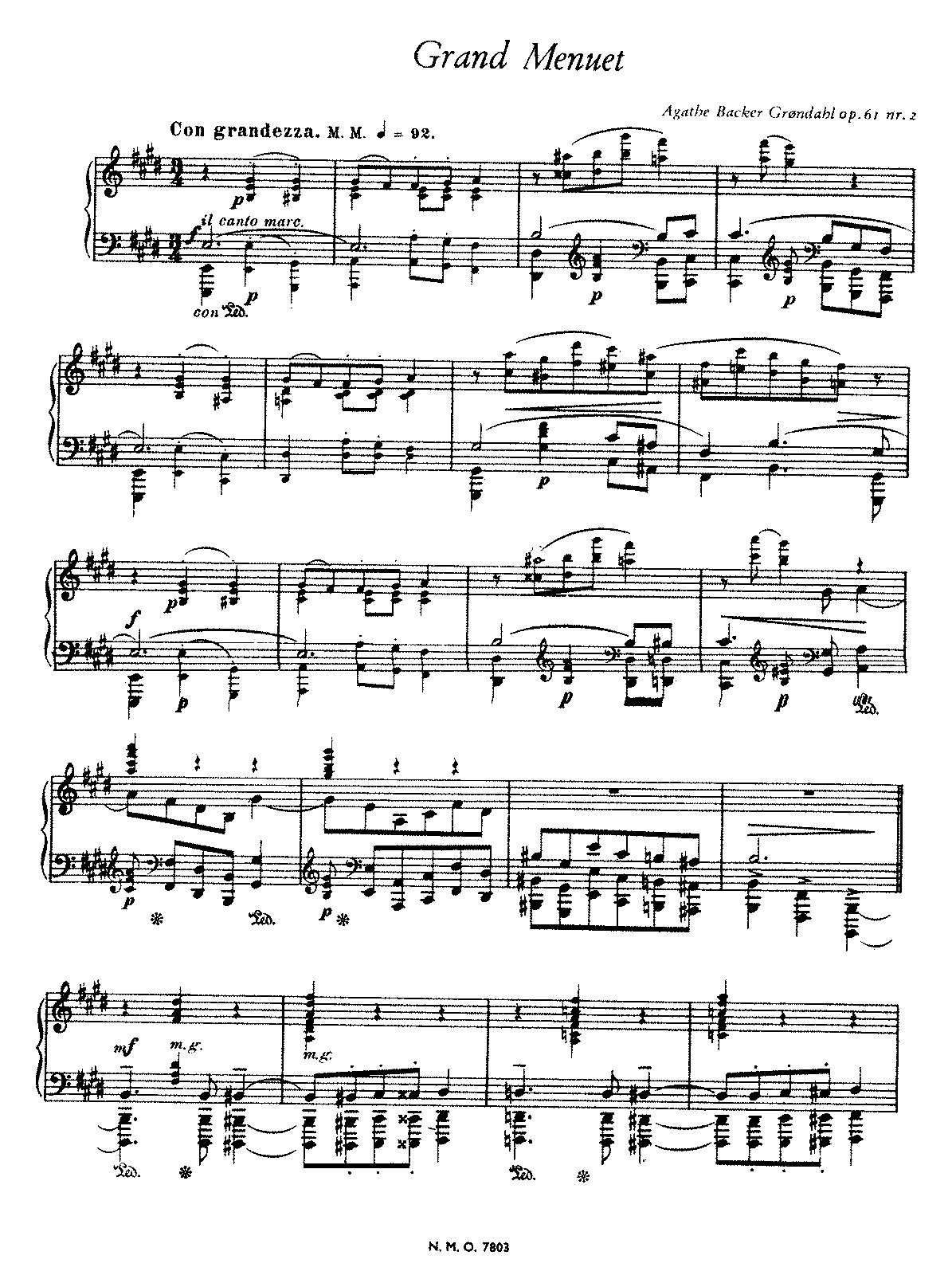 Backer-Grondahl - Op.61 No.2 - Grand Menuet.pdf