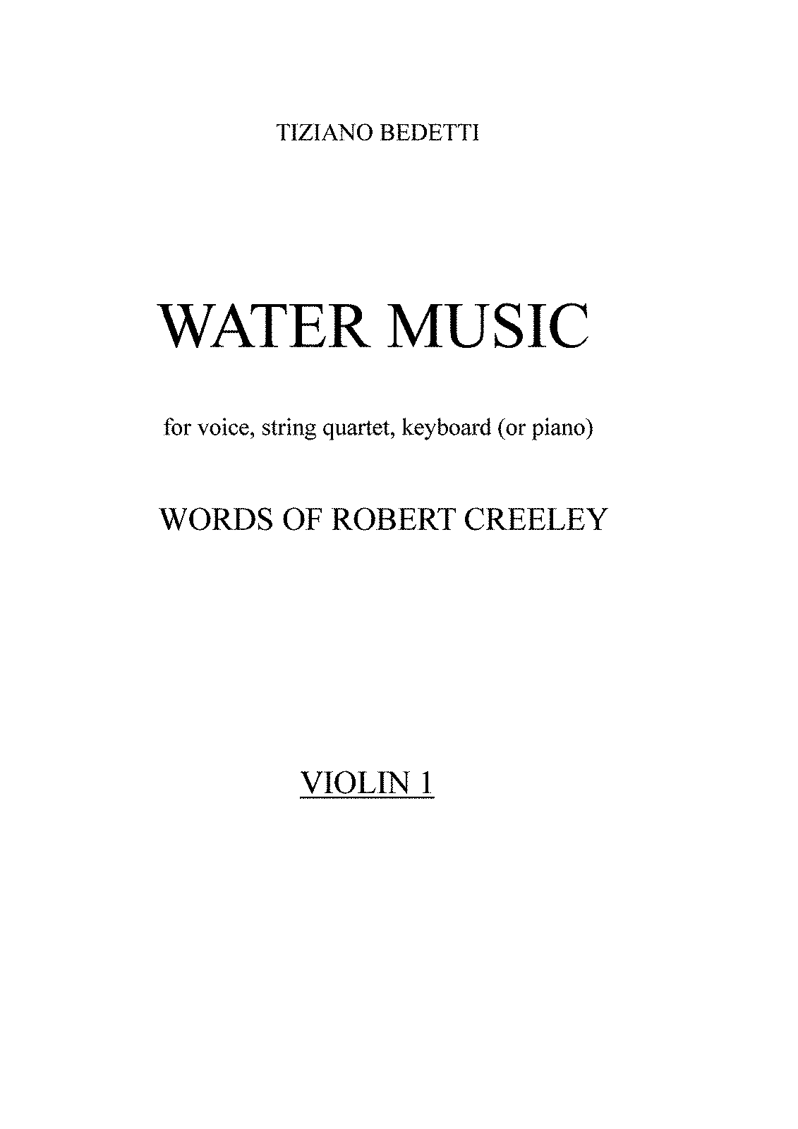 PMLP400394-Bedetti - Water Music - Violin 1 part.pdf