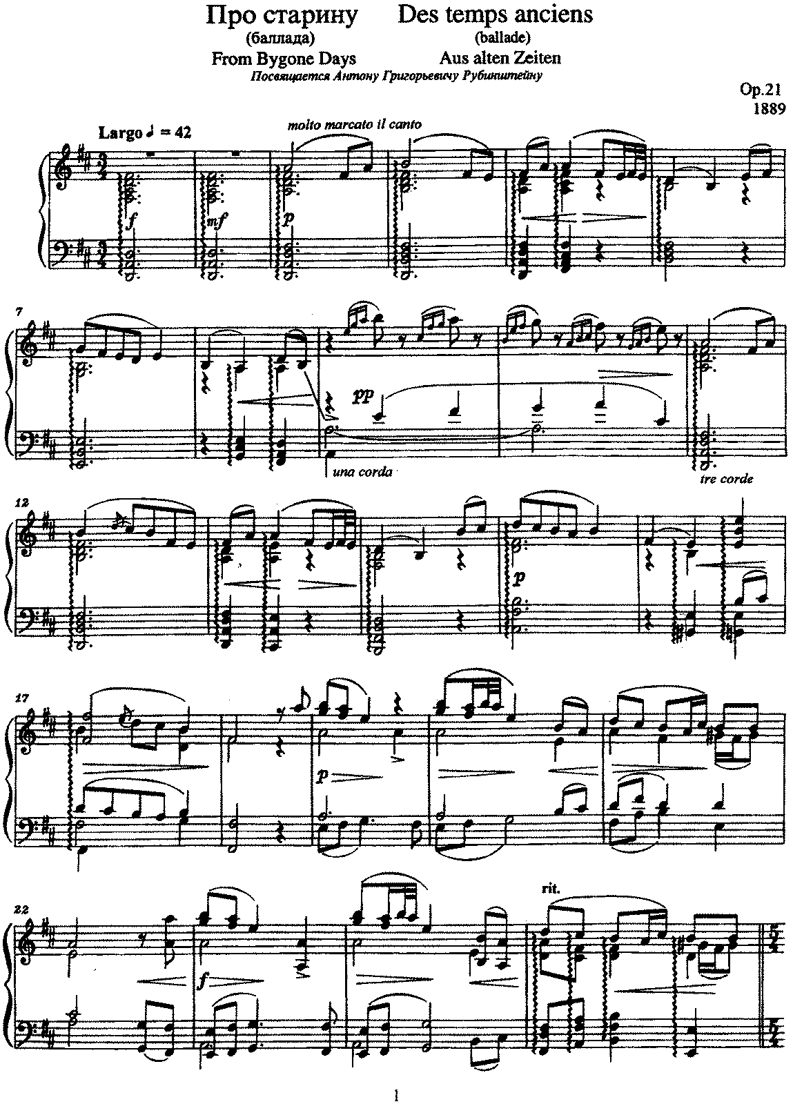 Liadov - Op.21 - Ballad (From Bygone Days).pdf