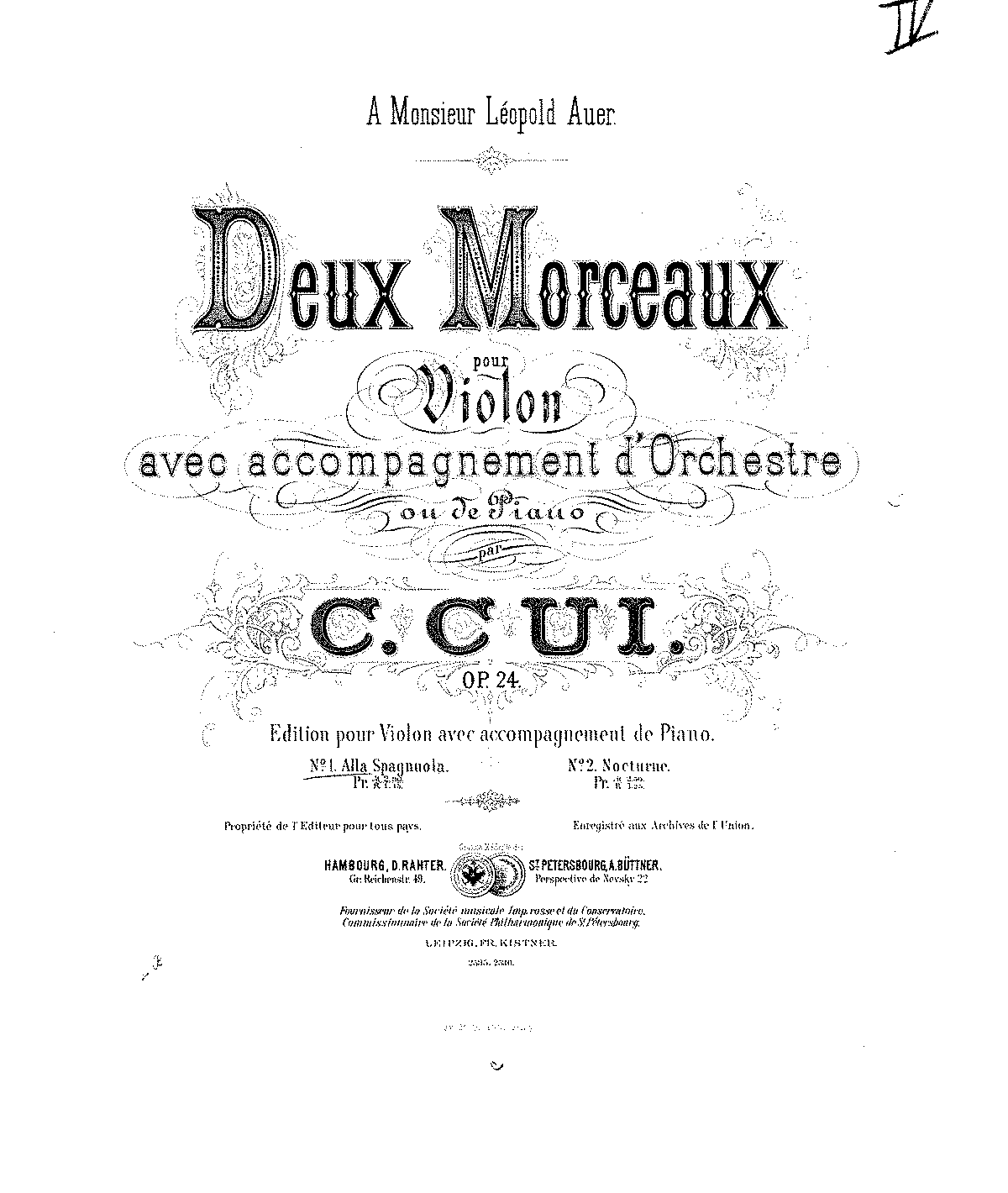 Cui - Op.24 - 2 Morceaux for Violin and Piano.pdf