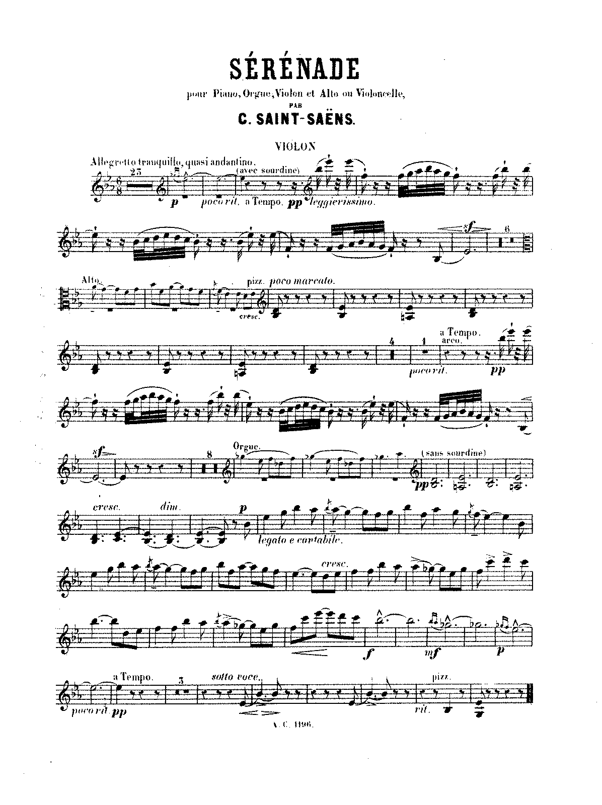 PMLP69041-Saint-Saëns - Sérénade, Op. 15 (piano, organ, violin and viola or cello).pdf