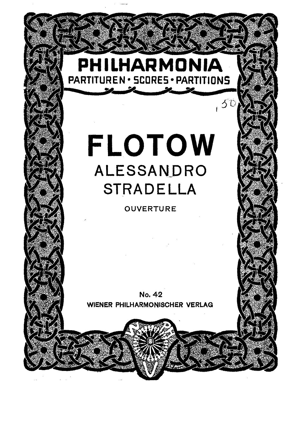 Alessandro Stradella Flotow Friedrich von IMSLPPetrucci Music