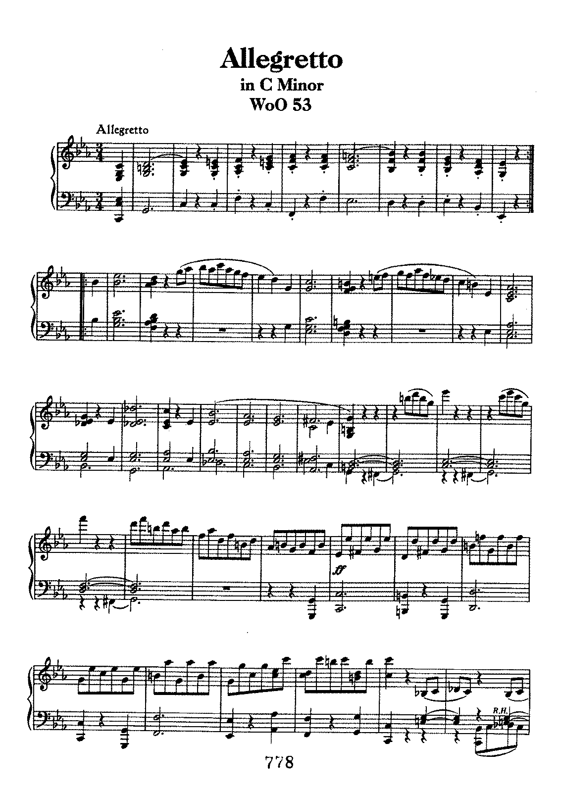 Beethoven woo53 Allegretto in c.pdf