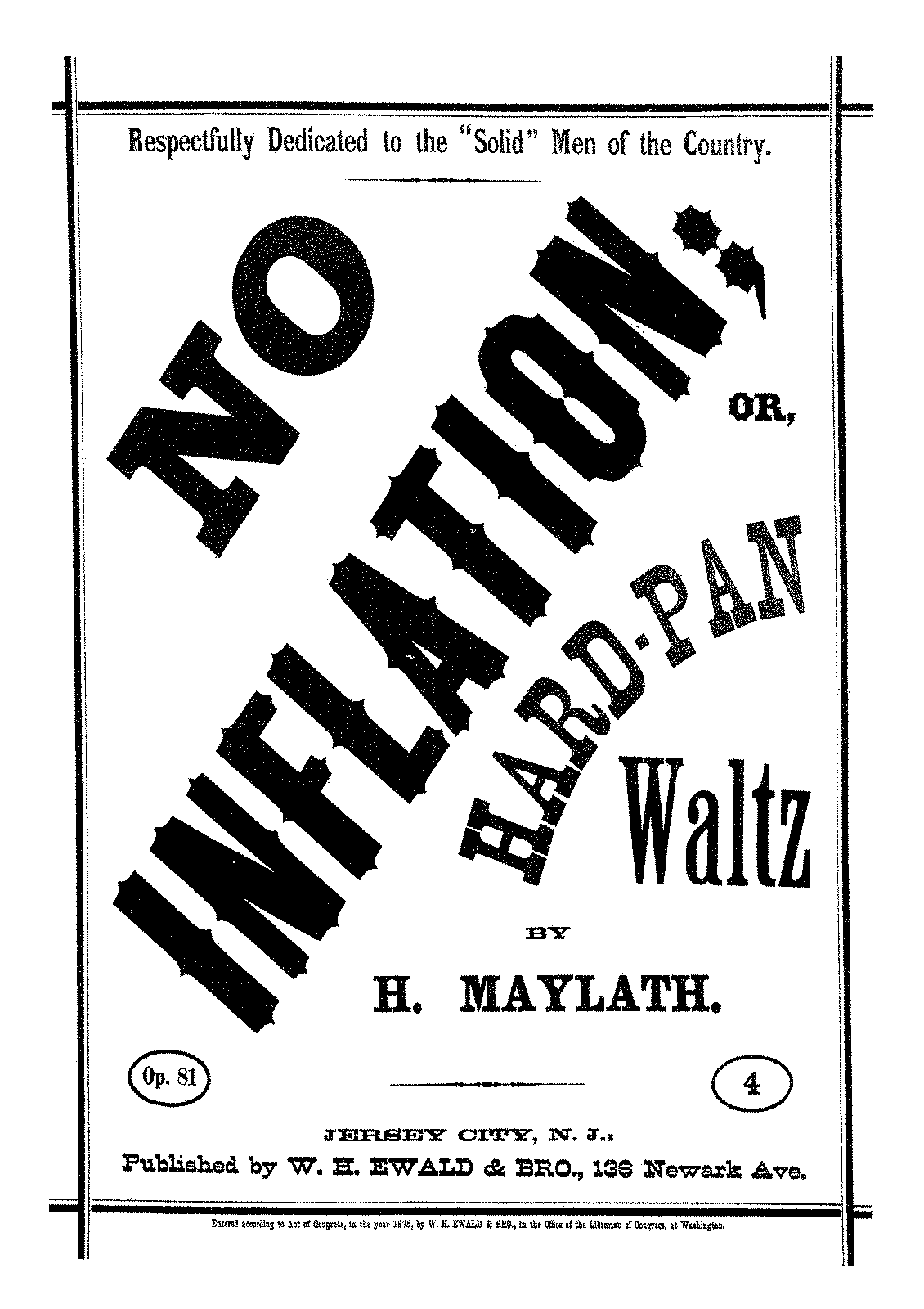 PMLP615067-Maylath - 81 No Inflation or, Hard-Pan Waltz op 81.pdf