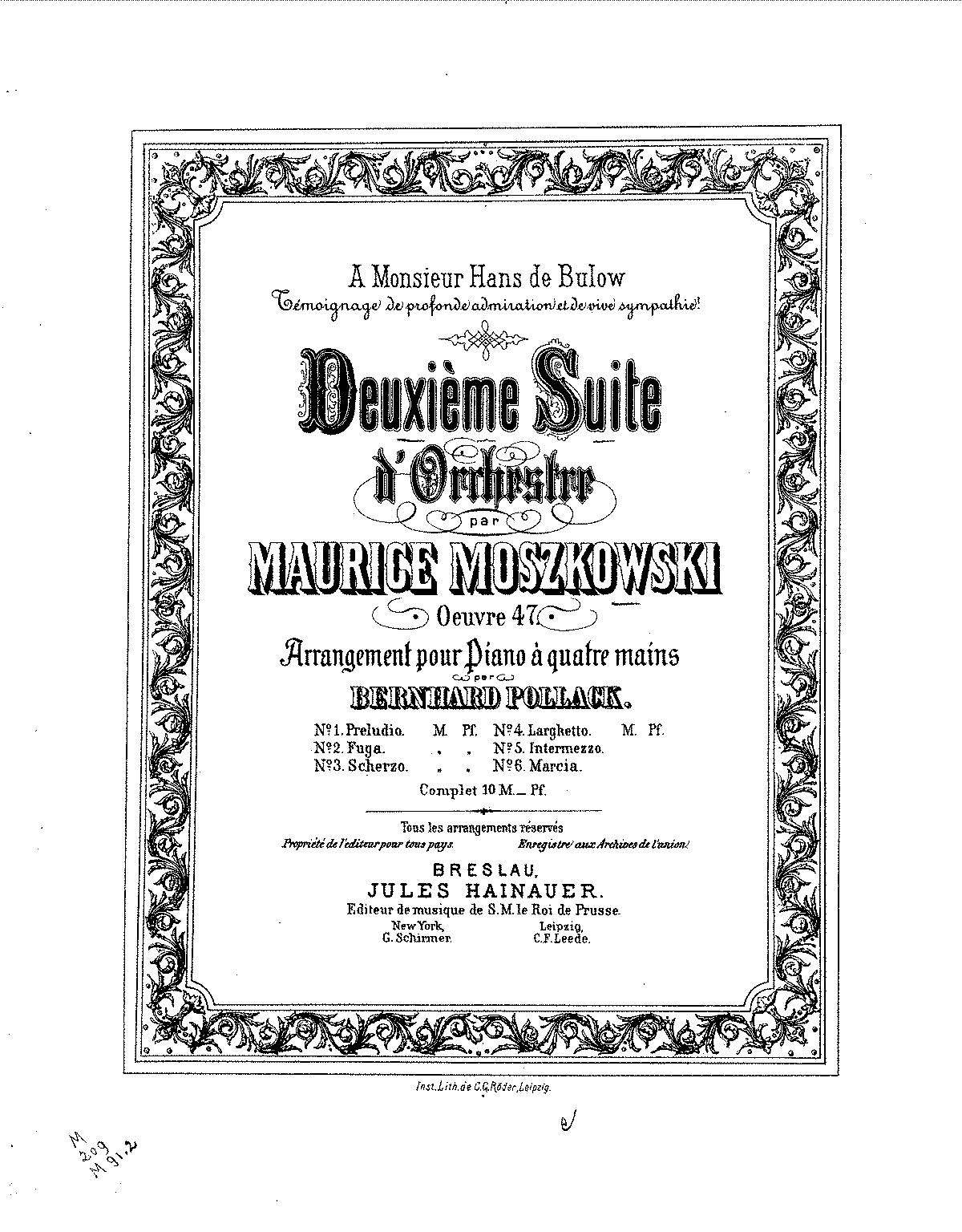 Moszkowski - Op.47 - 2nd Orchestral Suite (Duet).pdf