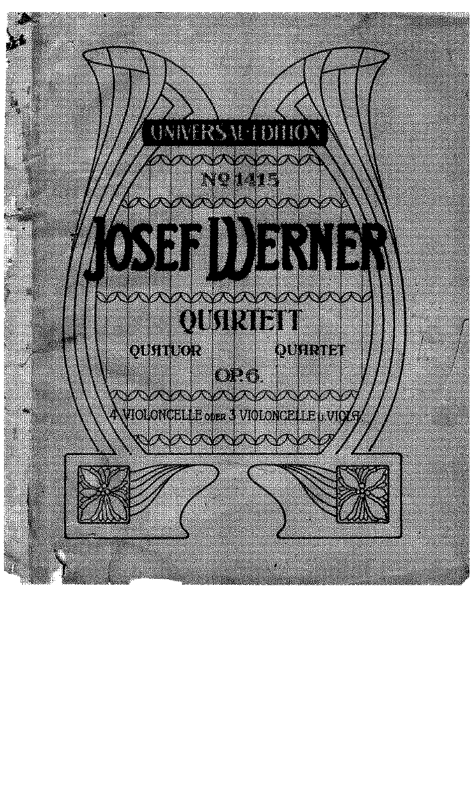 Werner, Josef Cello Quartet Op.6.pdf