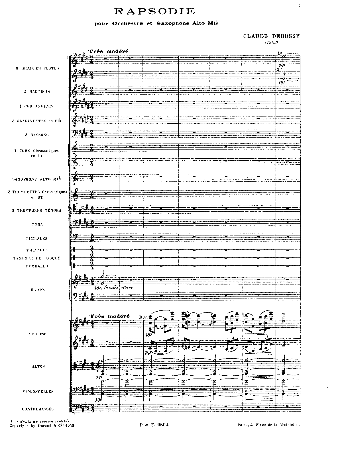 Debussy - Rapsodie for Orchestra and Saxophone (orch. score).pdf