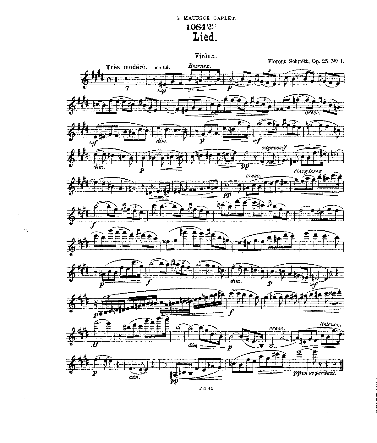 PMLP54212-Schmitt - 4 Pieces for violin and piano, Op. 25.pdf
