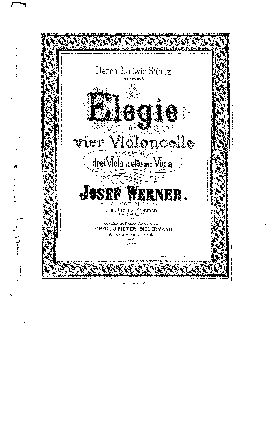 Werner, Josef Elegie for 4 celli Op.21.pdf