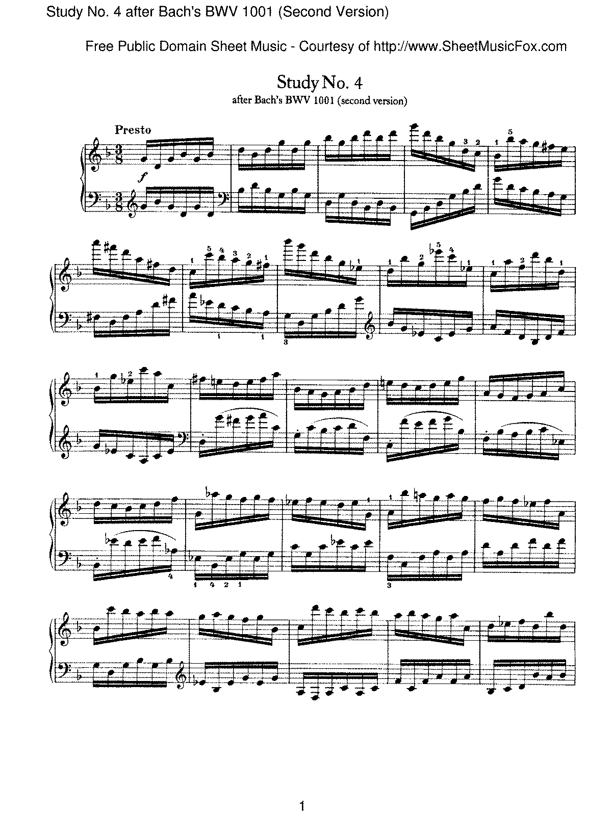 Brahms - Study No.4 after Bach's BWV 1001 (Second Version).pdf