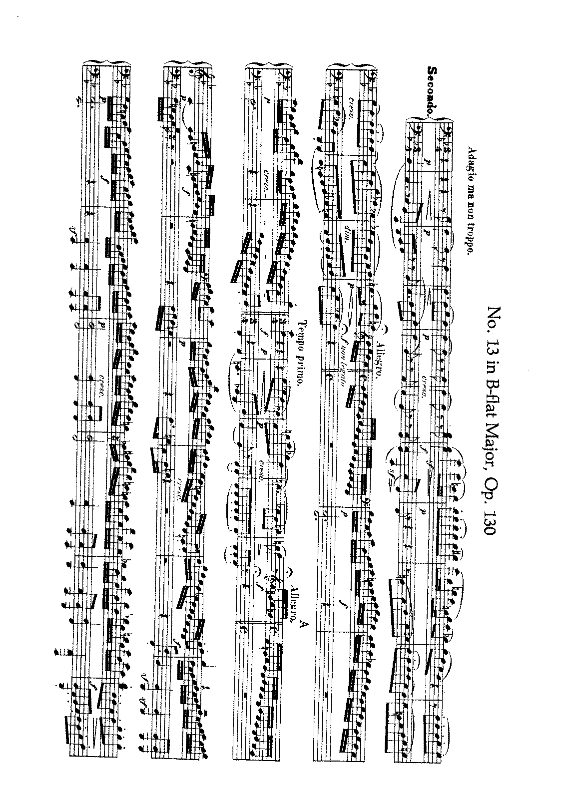Beethoven - String Quartet No. 13 (Arr. for Piano 4 h.).pdf