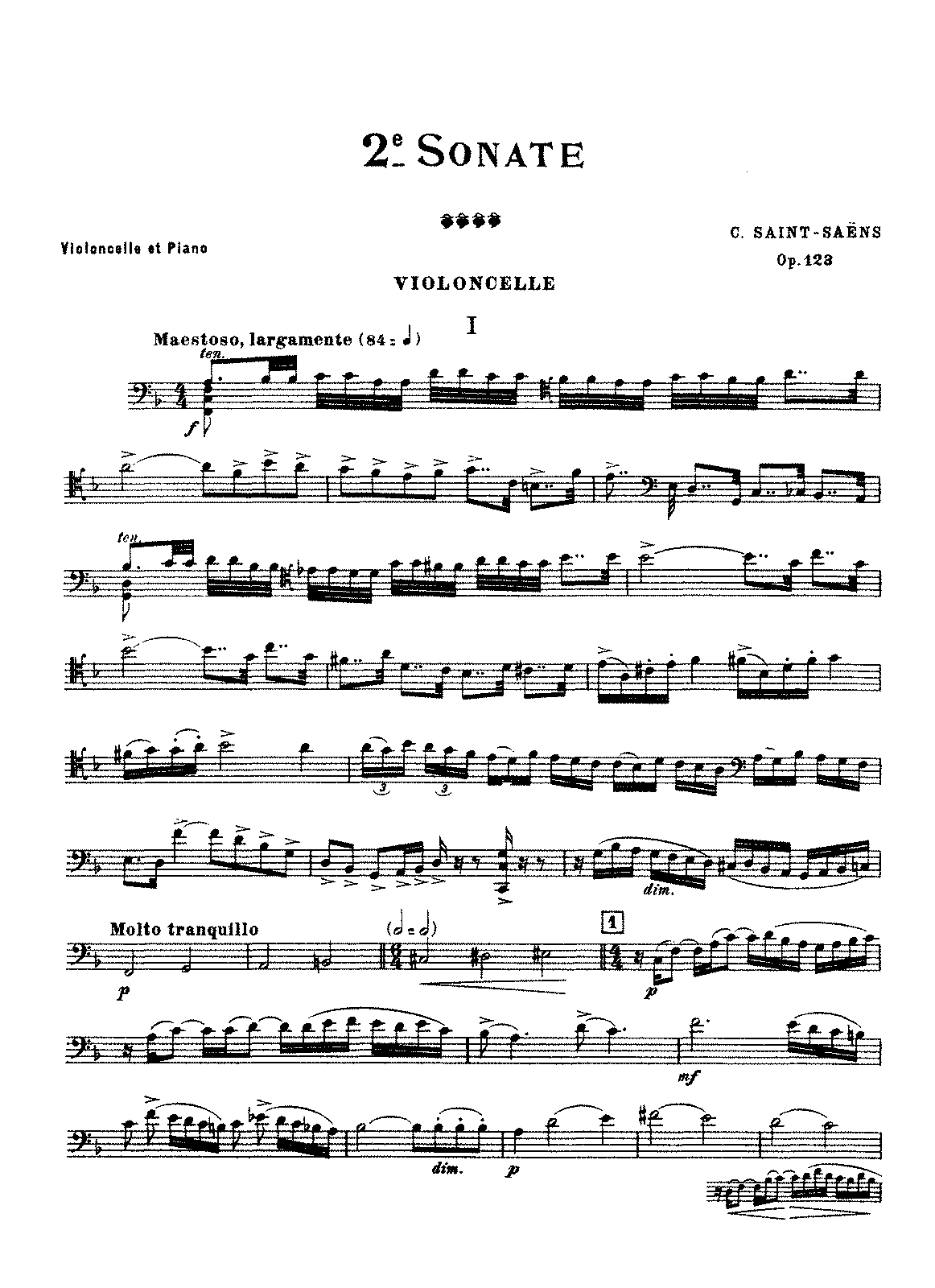 PMLP66872-Saint-Saëns - Cello Sonata No. 2, Op. 123.pdf