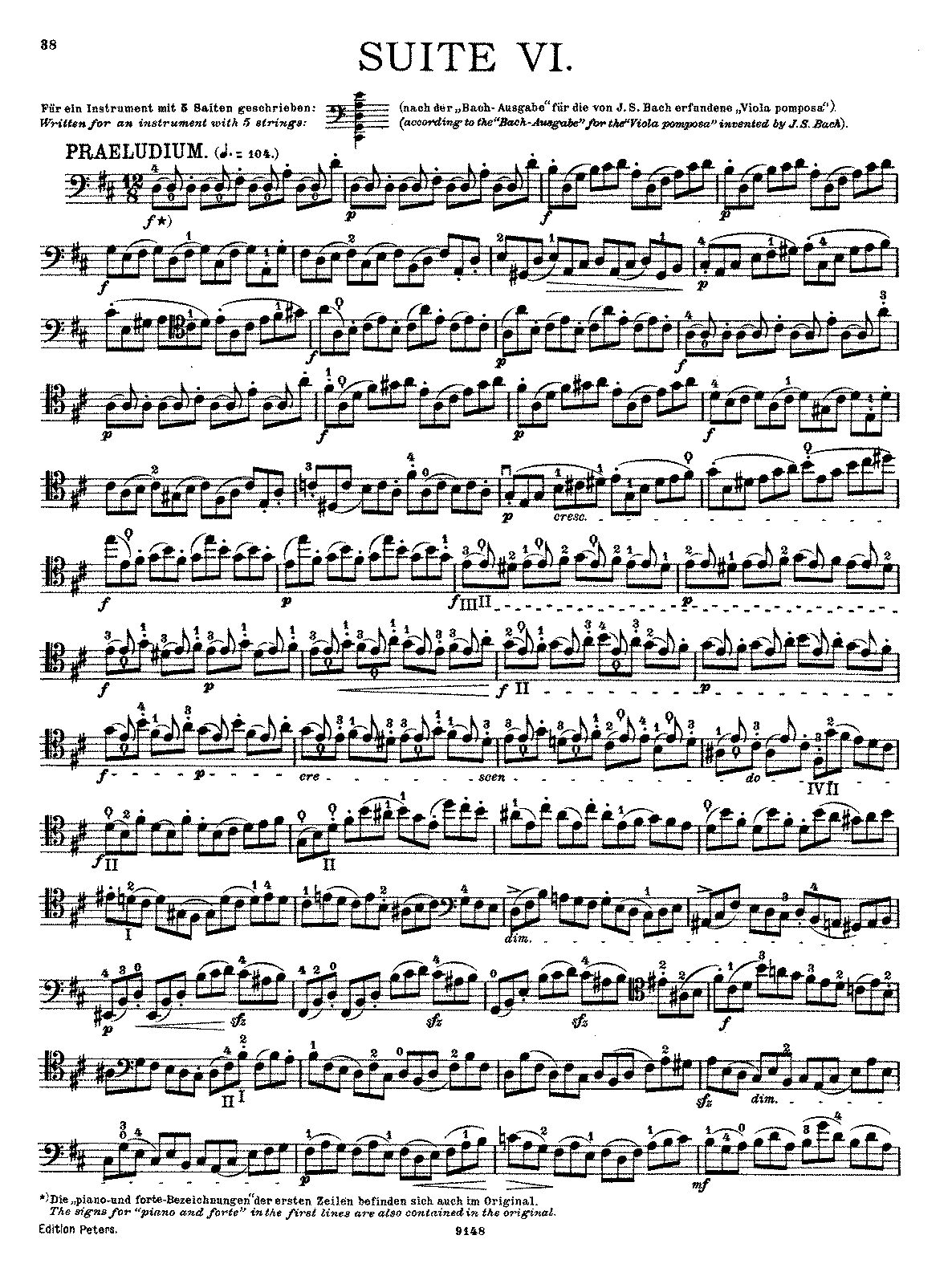 PMLP04291-Bach - Cello Suite No6 in D (Becker Peters).pdf