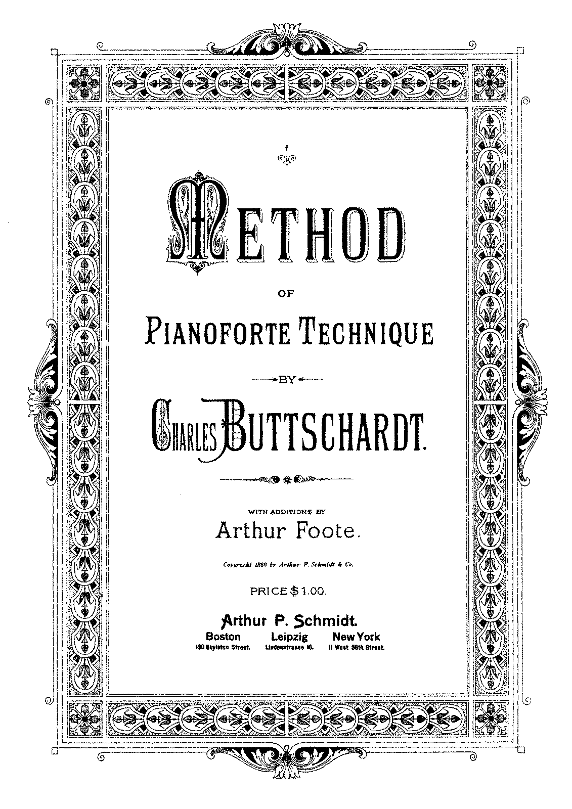 PMLP588815-Buttschardt, Charles - Method of Pianoforte Technique - Editor Arthur Foot.pdf
