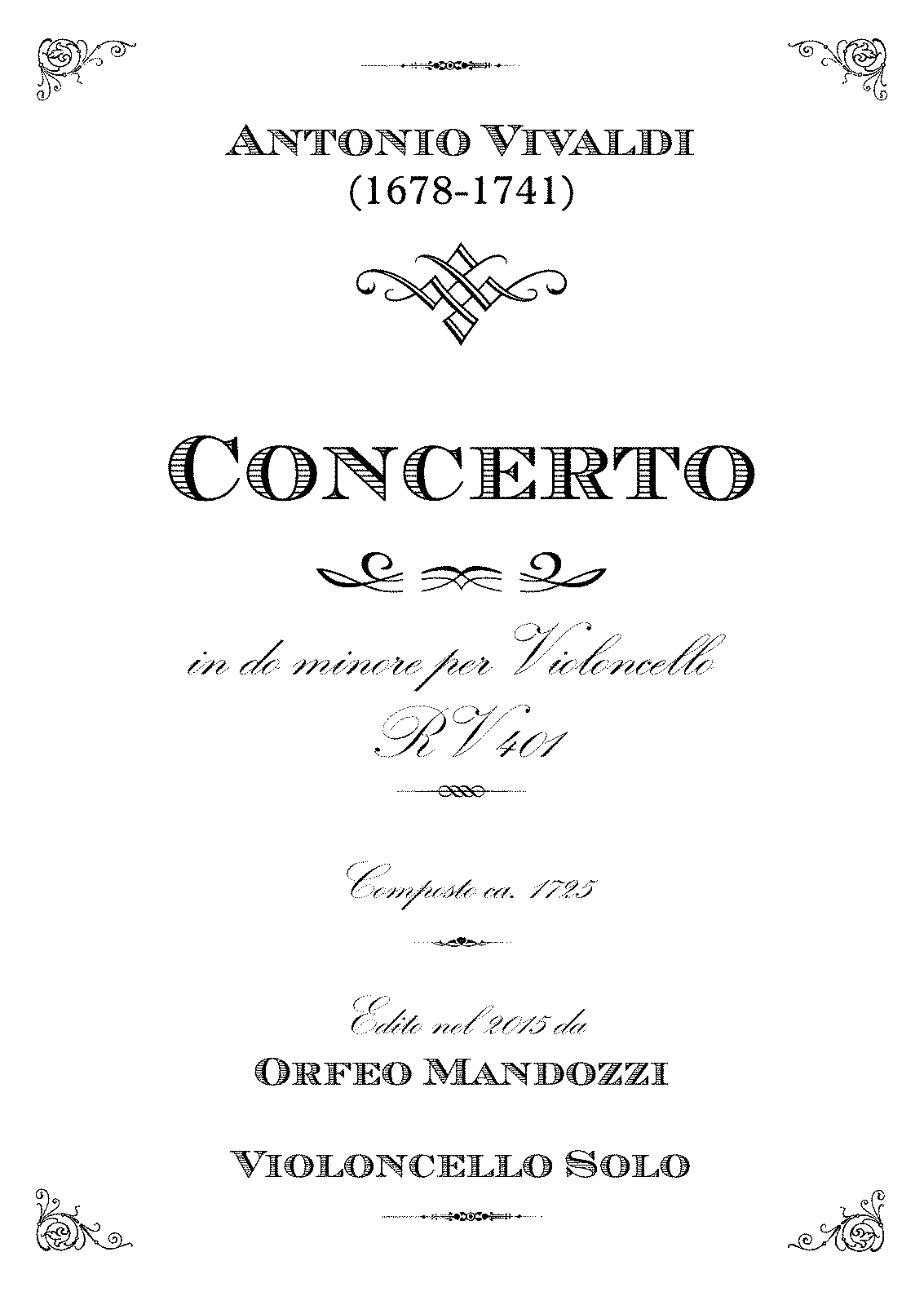 PMLP431310-Vivaldi Cello Concerto C Minor RV401 Mandozzi - Violoncello solo.pdf