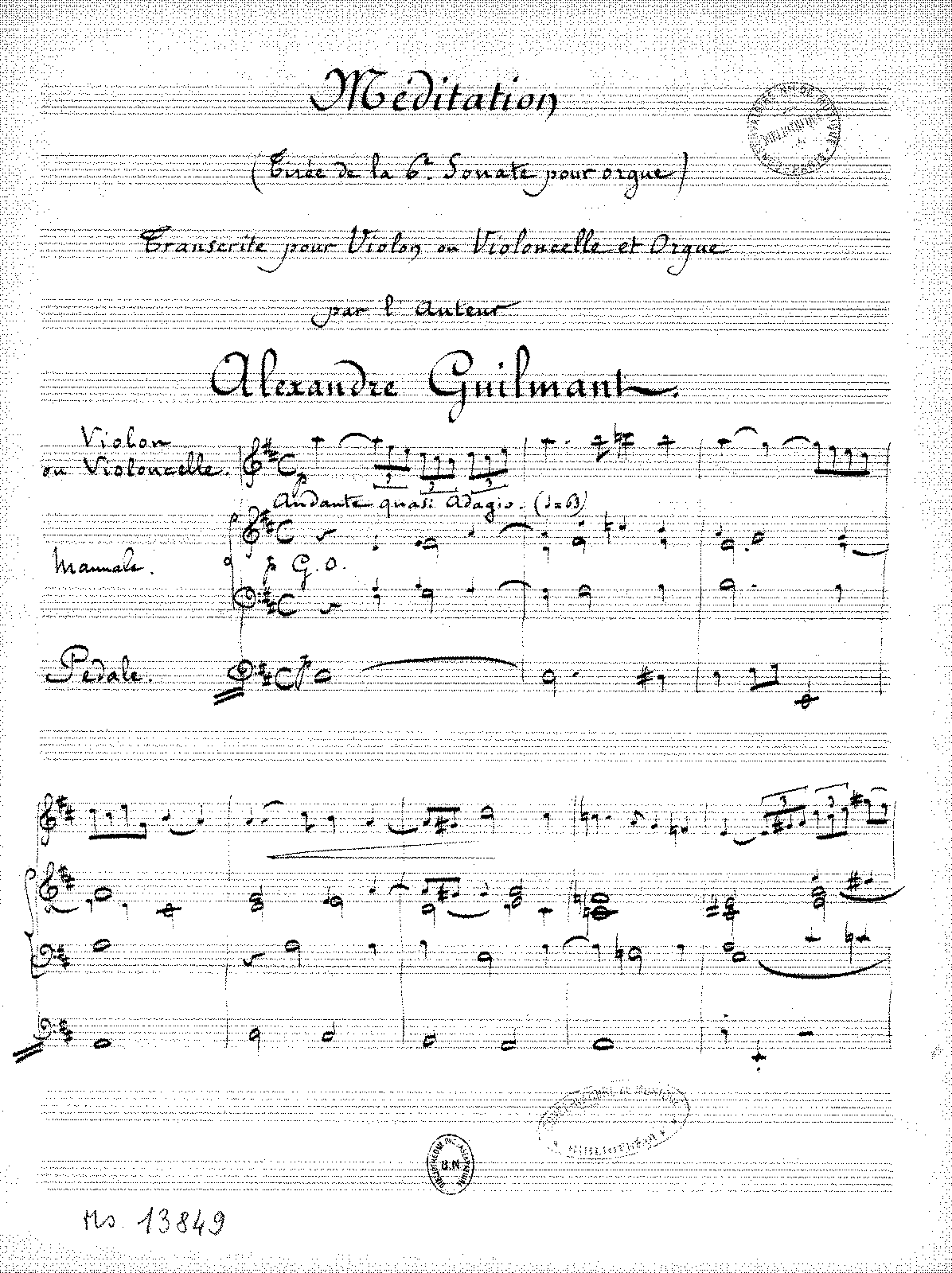 PMLP414911-Guilmant - Meditation from the 6th Sonata for Organ (Guilmant) for Violin (or cello) and organ.pdf
