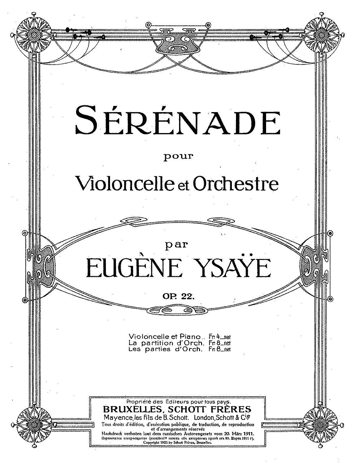 PMLP81363-Ysaye - Serenade Op22 Cello Piano.pdf