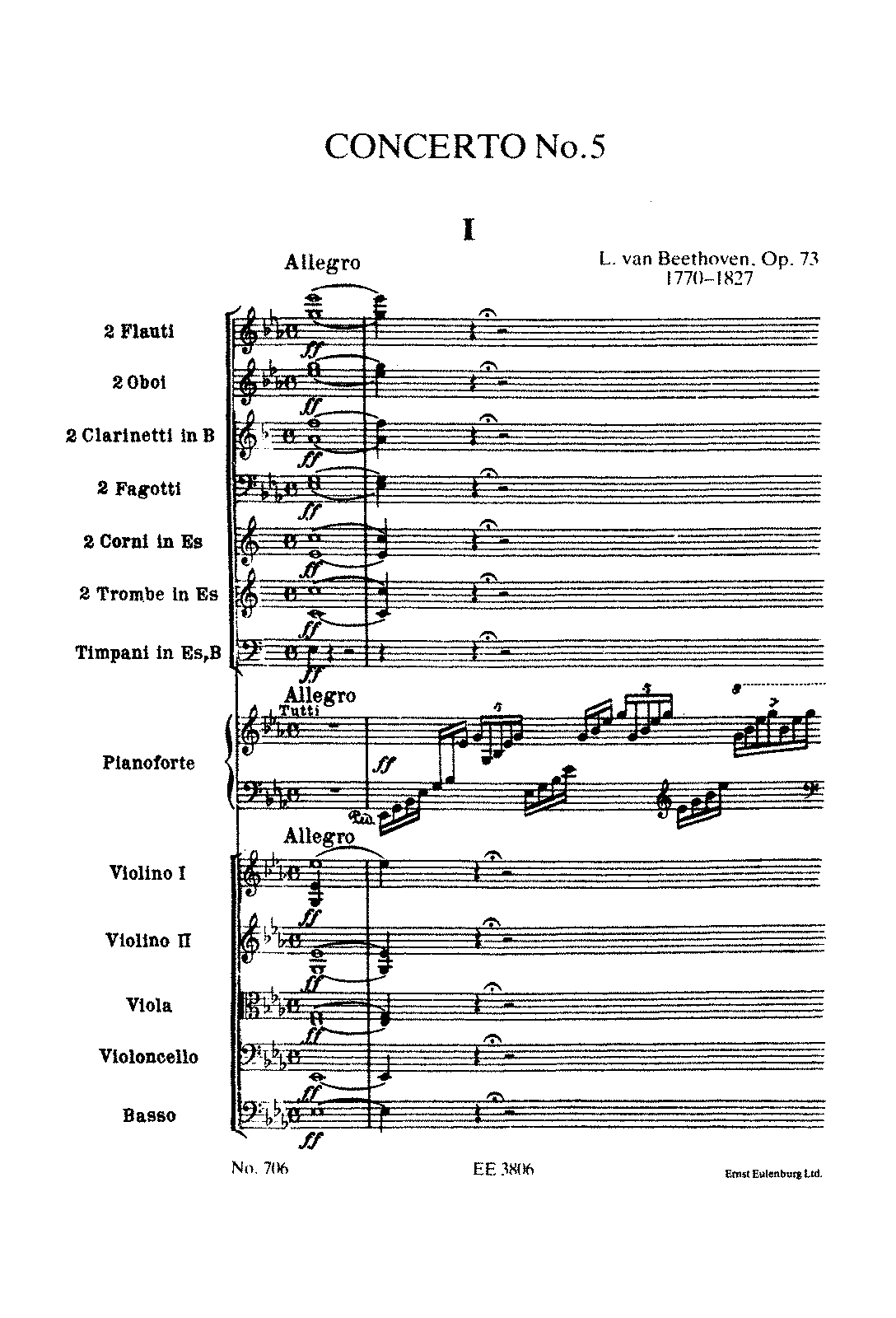 Piano Concerto No.5, Op.73 (Beethoven, Ludwig van) - IMSLP ...