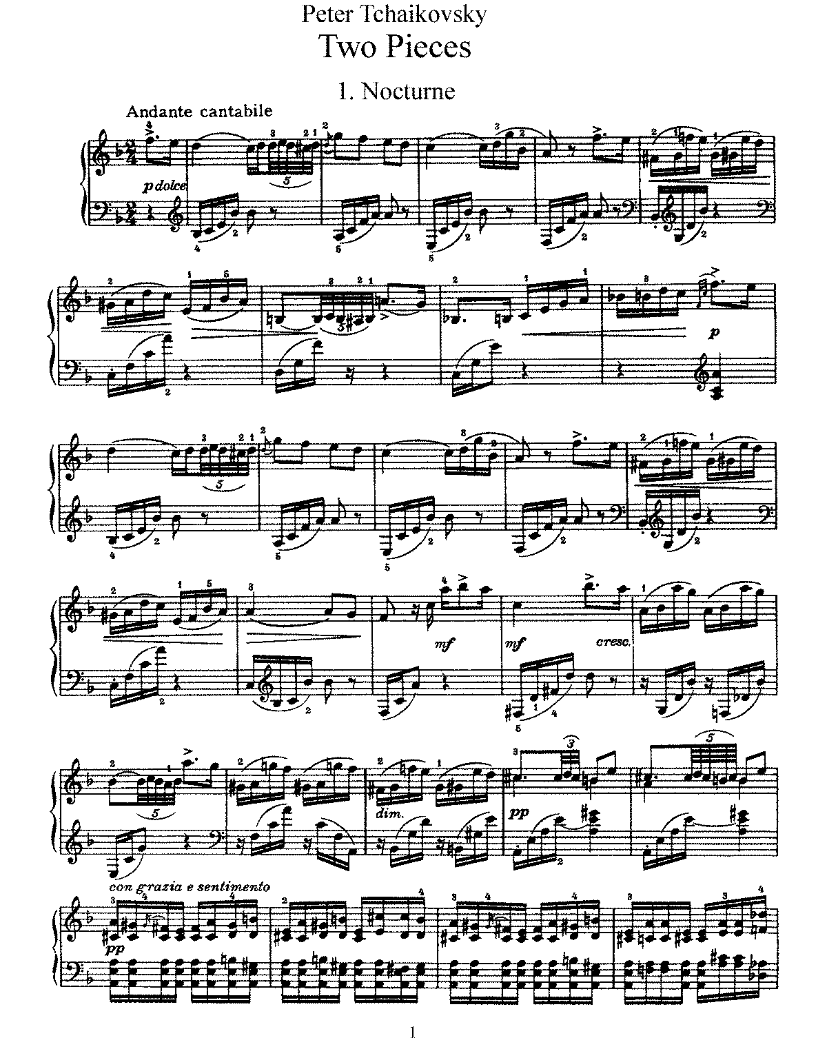 Tchaikovsky - Op.10 - 2 Pieces.pdf