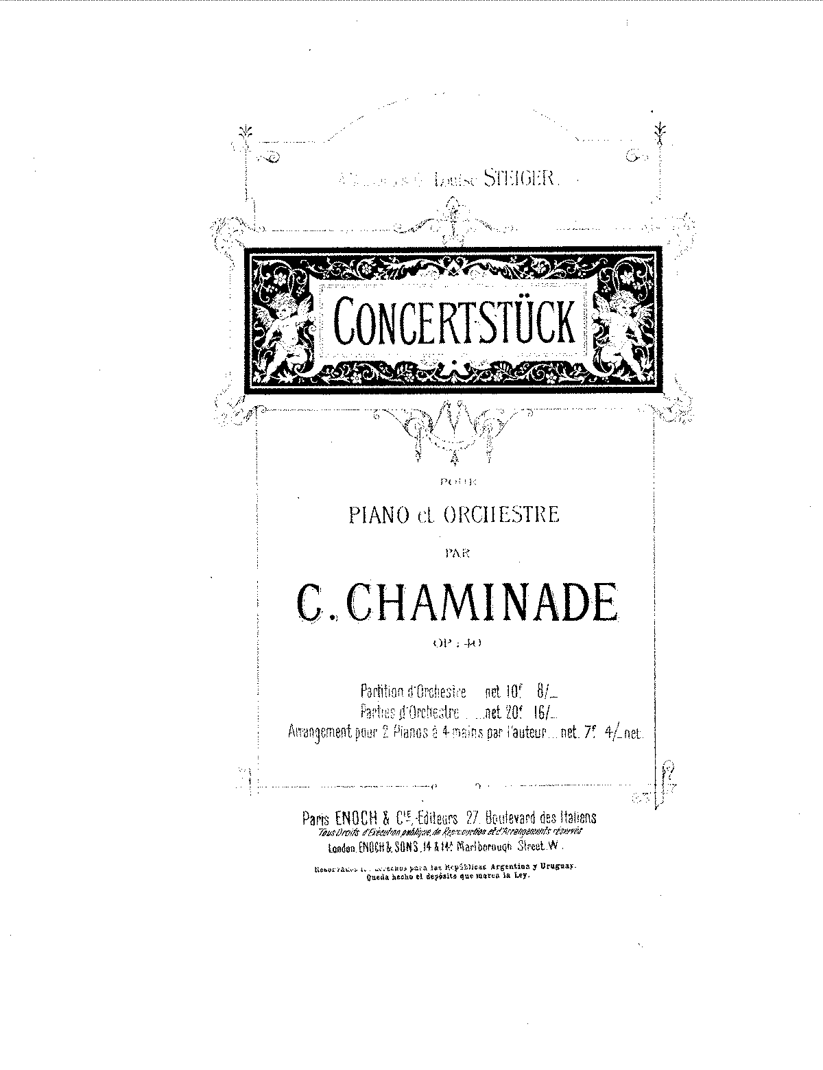 Chaminade - Concertstuck, Op.40 (piano 4 hands arr, first piano).pdf