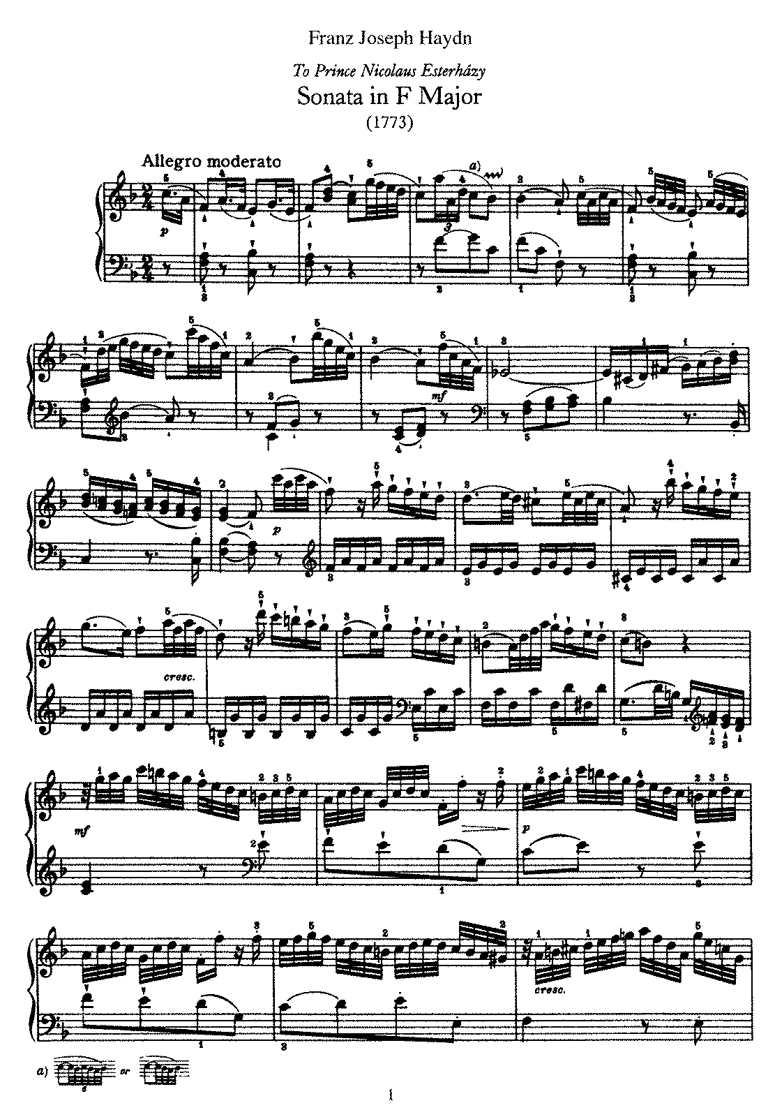 Haydn - Piano Sonata No 23 in F.pdf