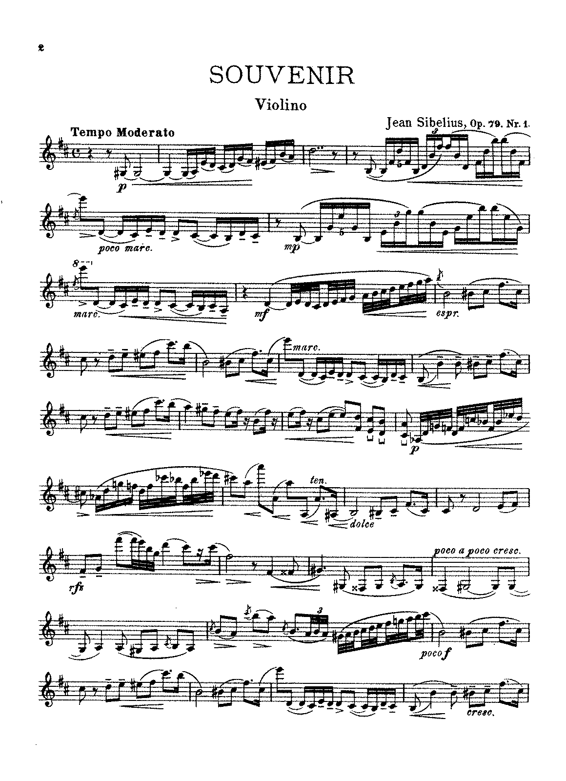 Sibelius - 6 Pieces for Violin and Piano, Op.79.pdf