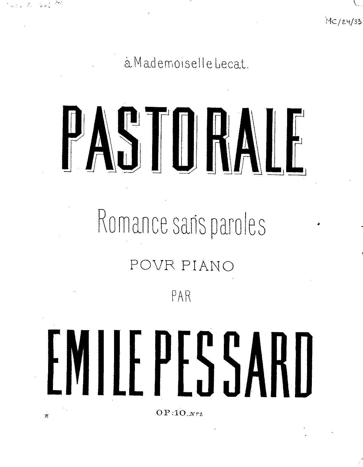 PMLP413582-EPessard 2 Romances sans paroles, Op.10 No.1.pdf
