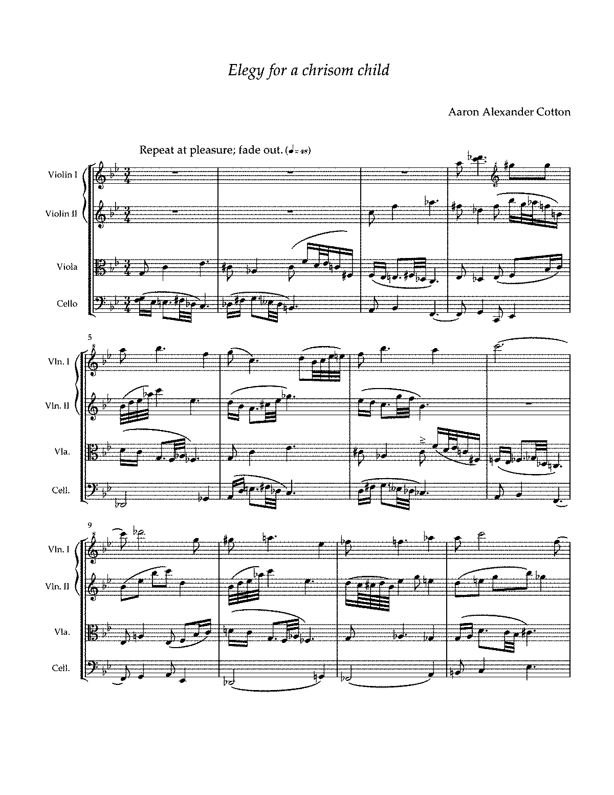 PMLP332716-Elegy for a chrisom child (for String quartet) by Aaron Alexander Cotton.pdf