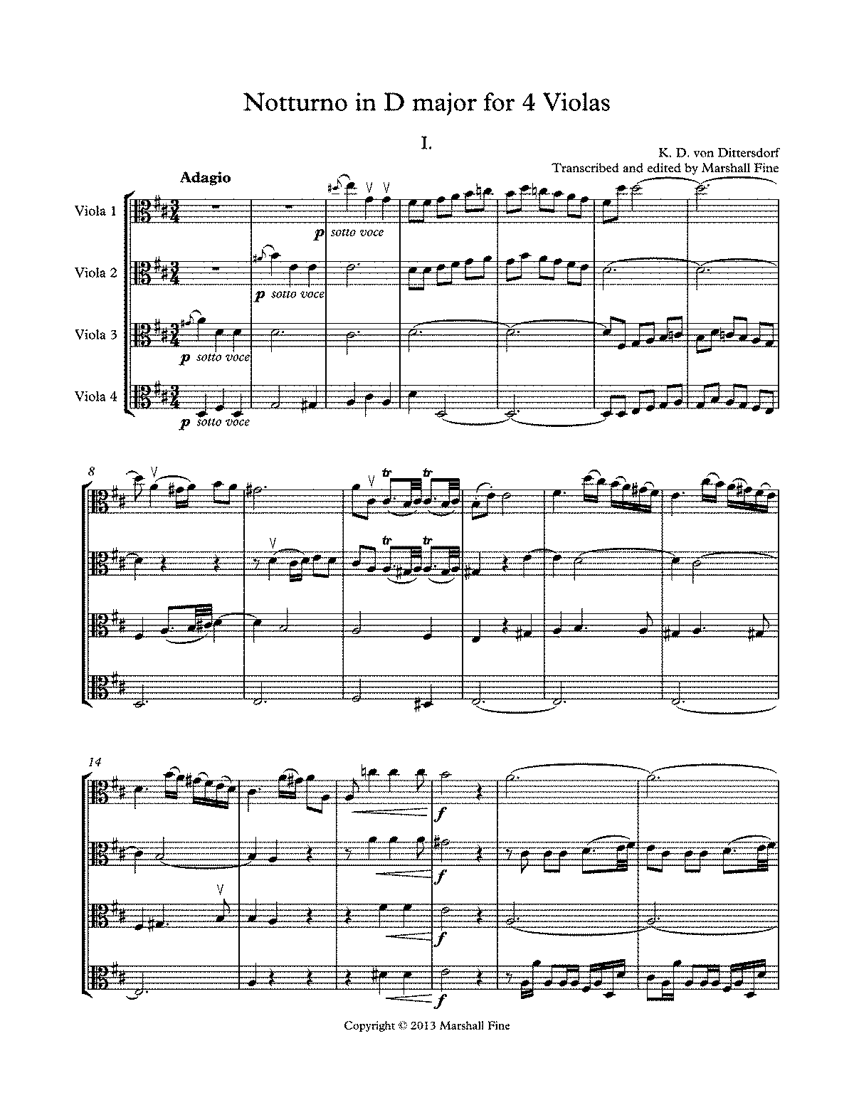 PMLP40345-Dittersdorf Notturno in D major for 4 Violas - score and parts.pdf