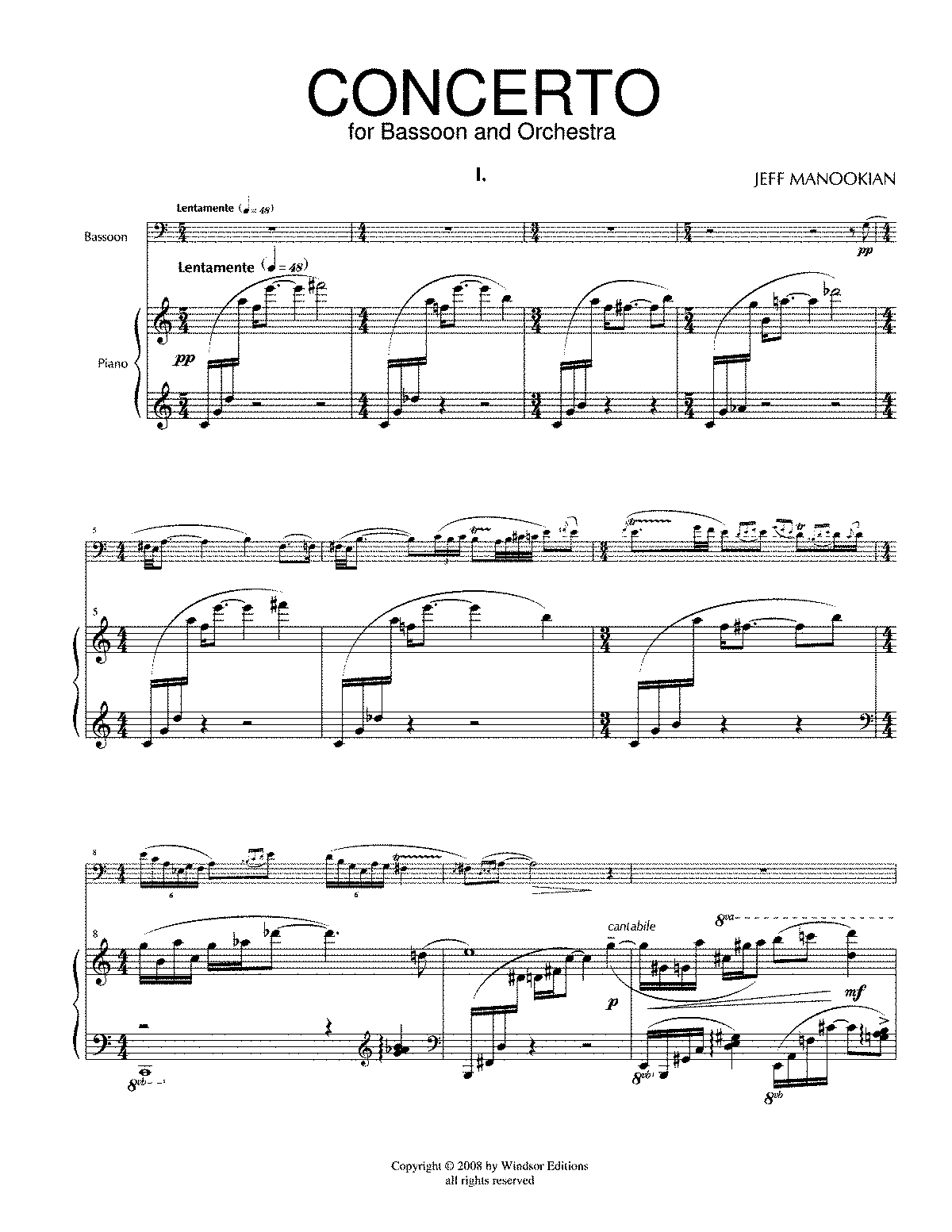 PMLP116091-BASSOON CONCERTO Bassoon and Piano Score.pdf