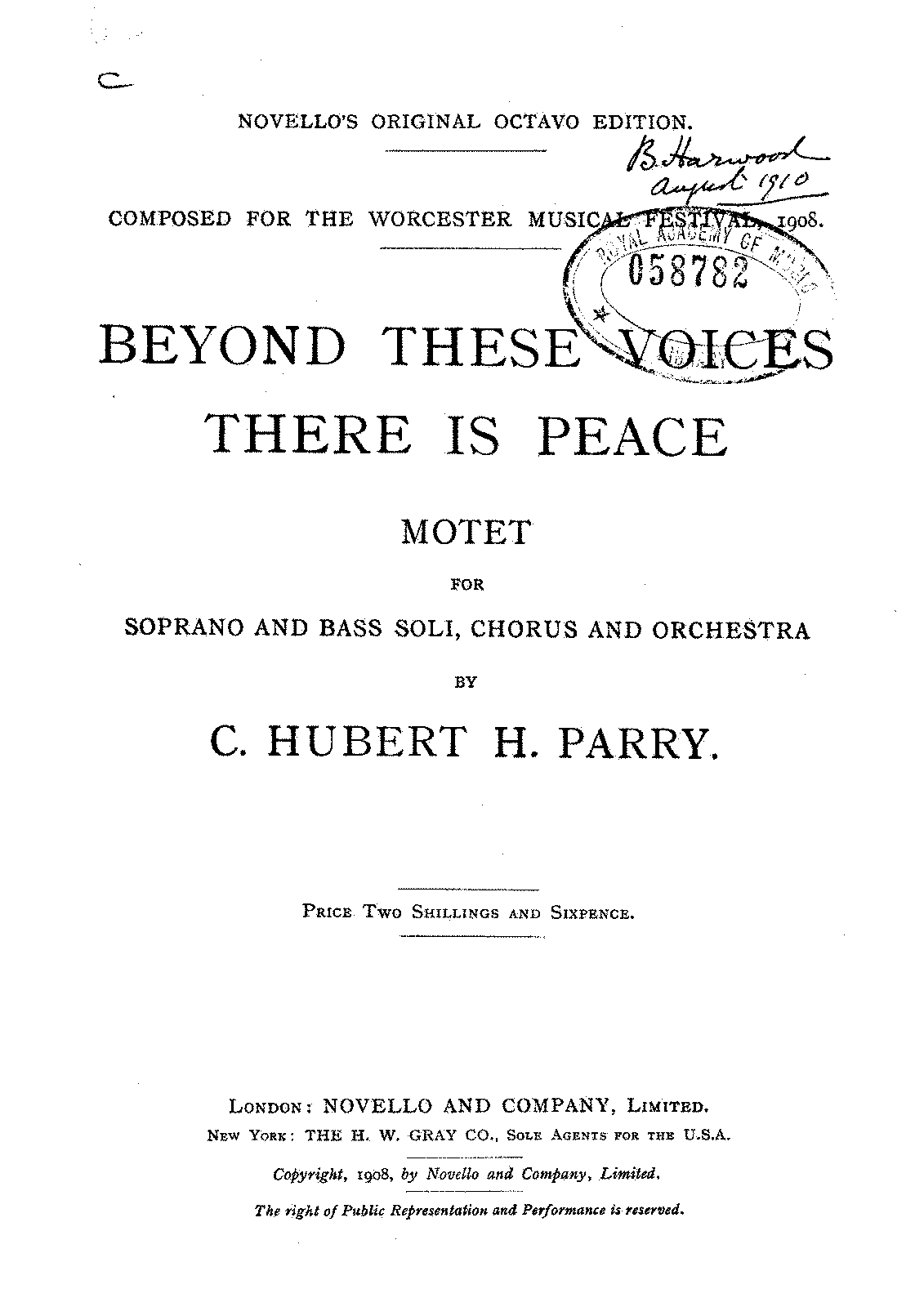 PMLP316203-Parry - Beyond these voices there is peace, Title and prelims.pdf