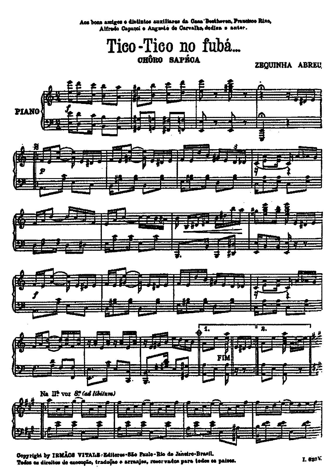 Tico tico no fub abreu zequinha imslppetrucci music library for piano hexwebz Choice Image