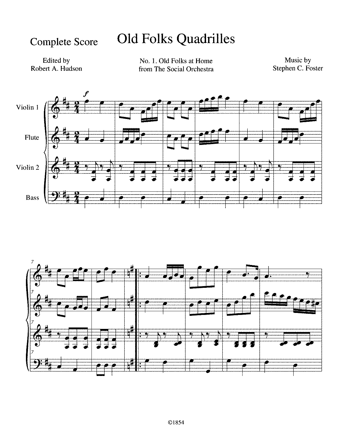 PMLP396869-Old Folks Quadrilles 1 Old Folks at Home - Complete Score.pdf