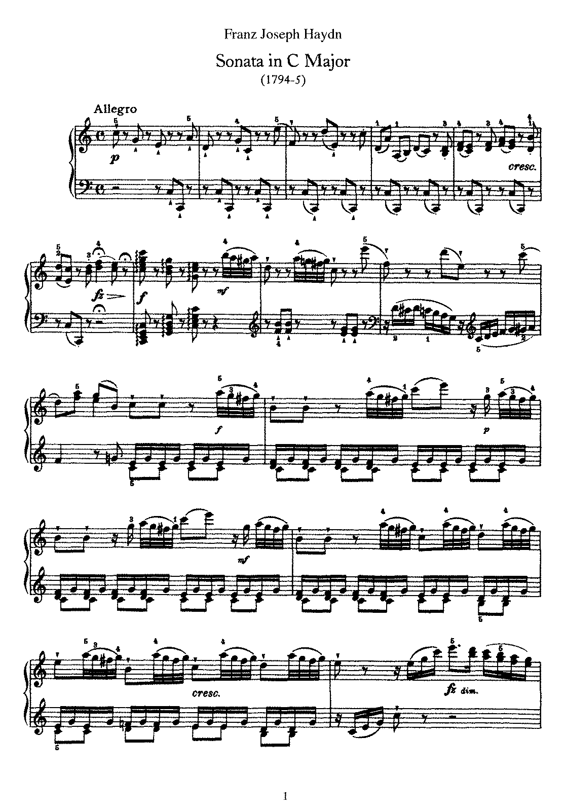 Haydn - Piano Sonata No 50 in C.pdf