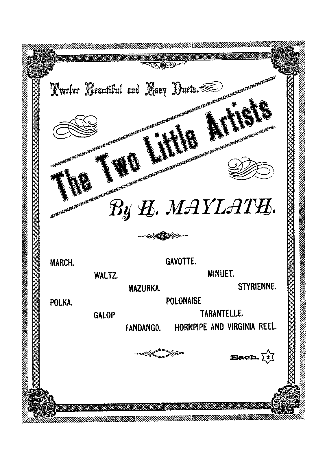 PMLP616662-Maylath - The Two Little Artists - 12 Easy Duets - 4H.pdf