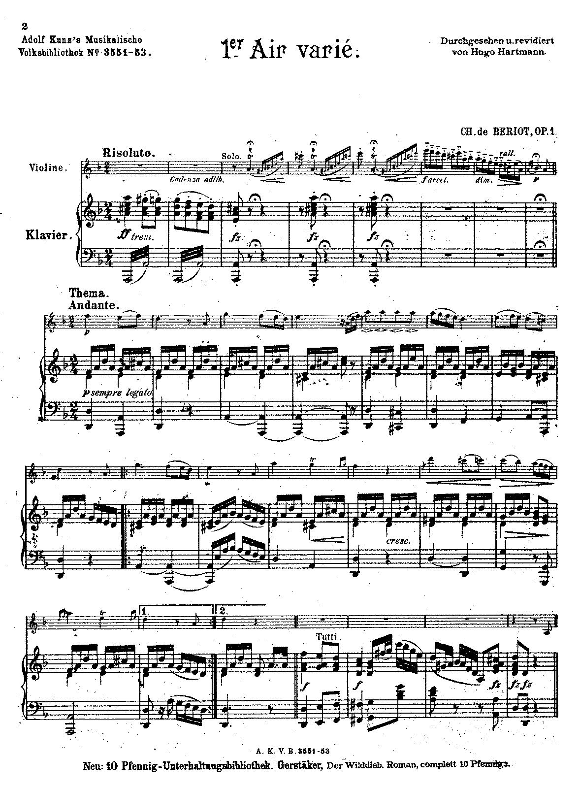 PMLP97079-Beriot - Air with Variations No1 Op1 violin piano.pdf